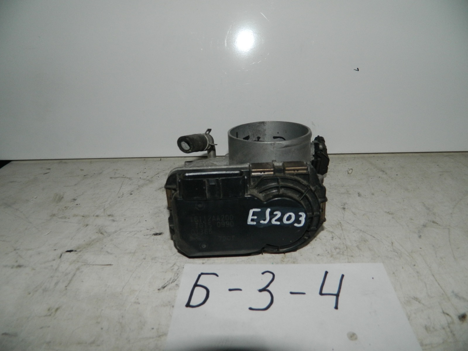 Дроссельная заслонка Subaru Legacy BH EJ202 (б/у)