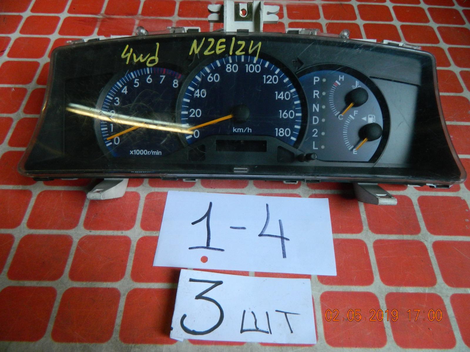 Панель приборов Toyota Fielder NZE124 (б/у)