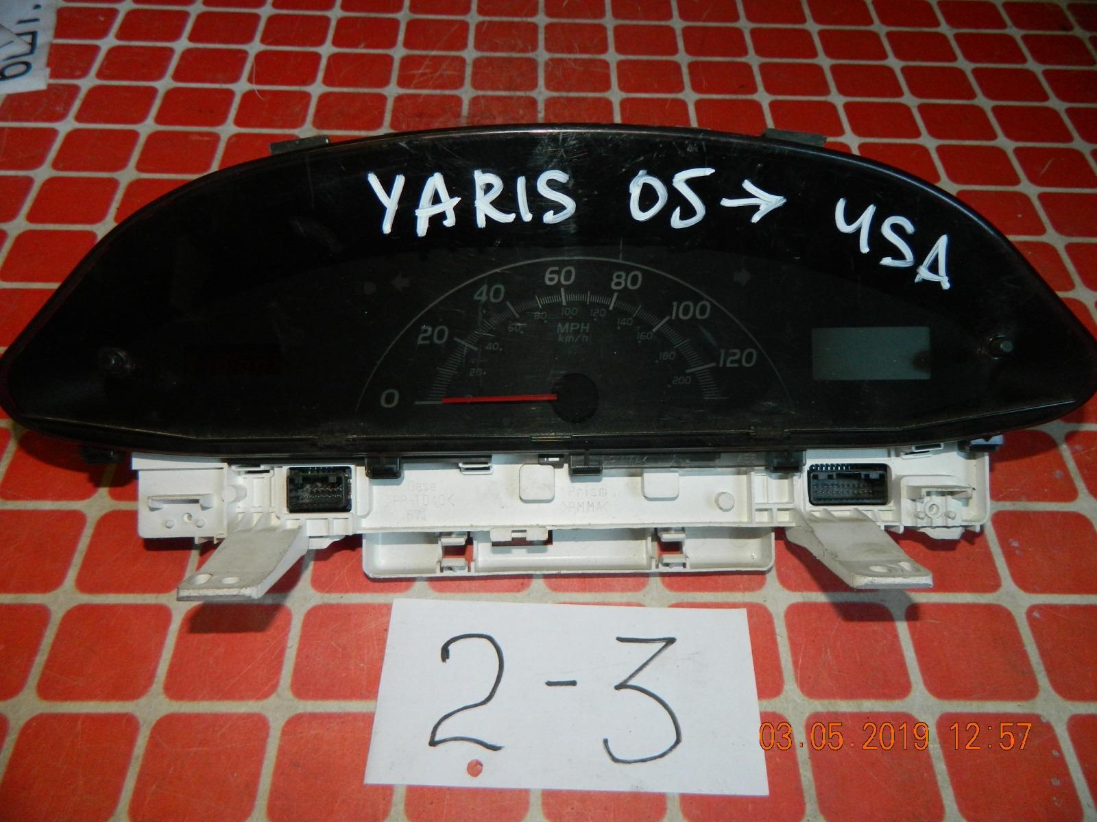 Панель приборов Toyota Yaris (б/у)