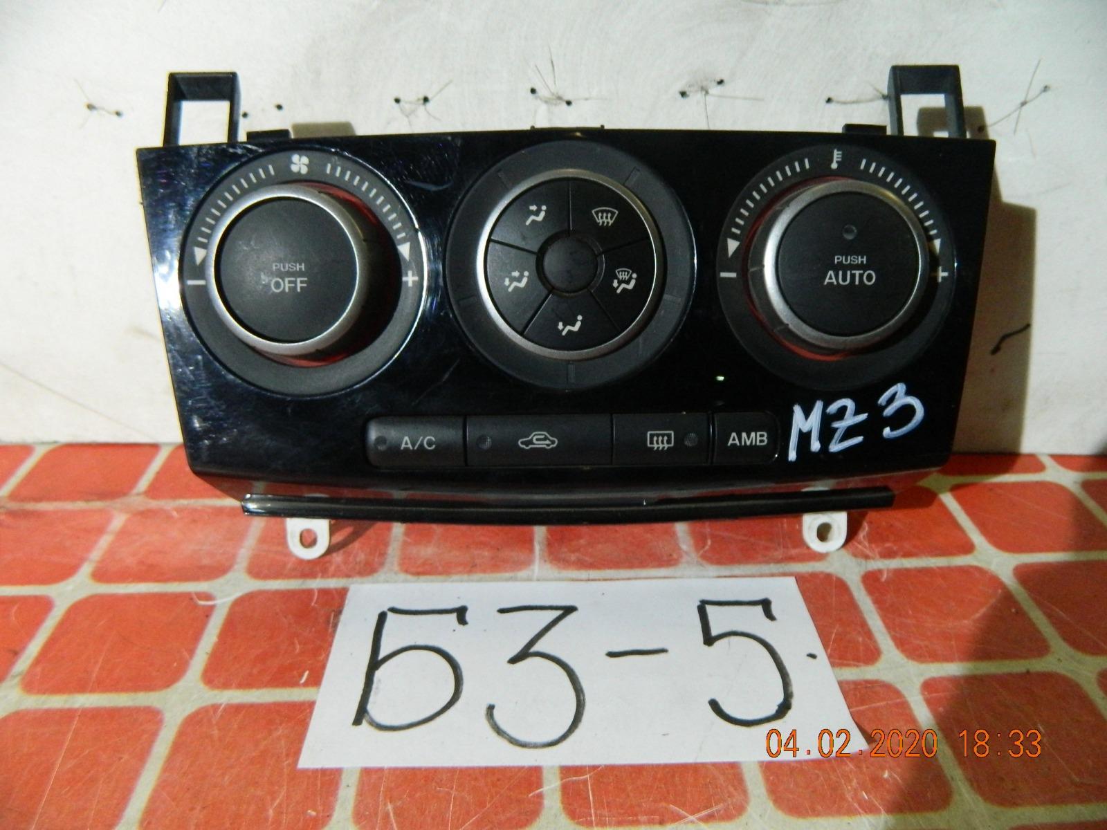 Блок климат-контроля Mazda 3 (б/у)