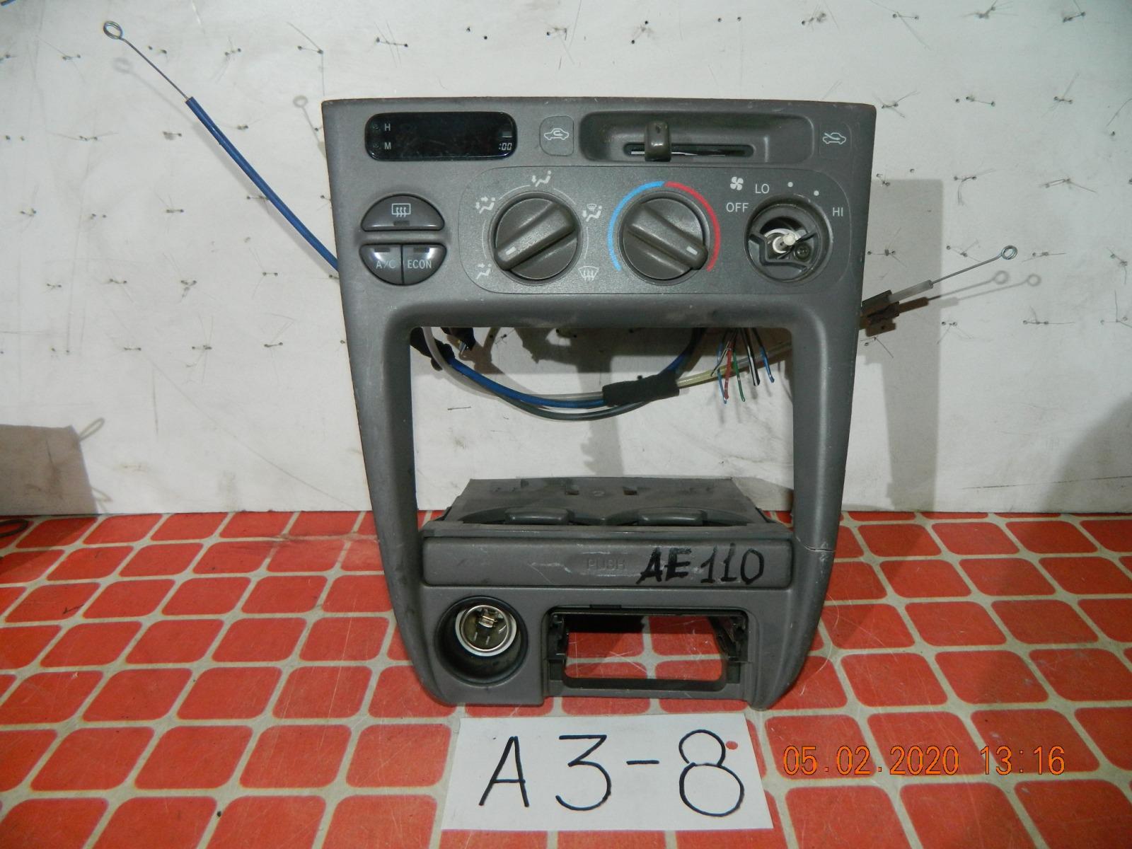 Блок климат-контроля Toyota Sprinter Carib AE110 (б/у)