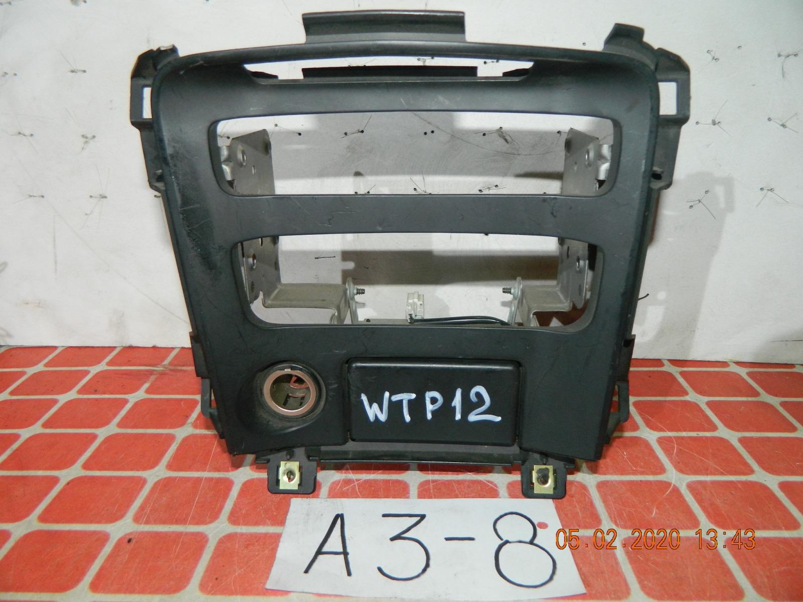 Консоль магнитофона Nissan Primera WTP12 (б/у)