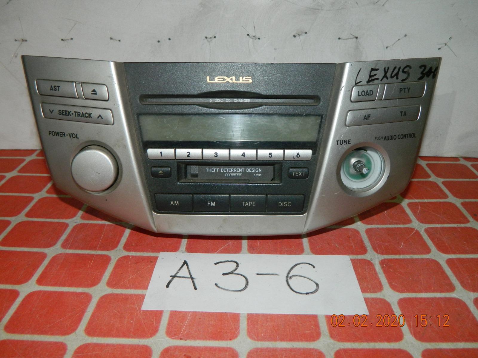 Штатная магнитола Lexus Rx300 (б/у)