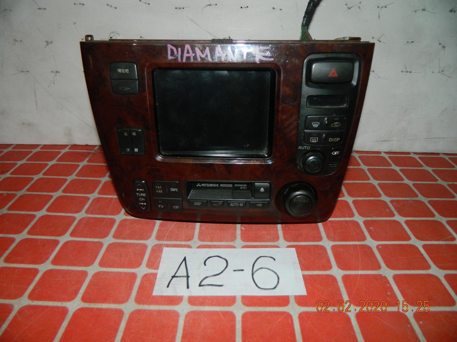 Штатная магнитола Mitsubishi Diamante (б/у)