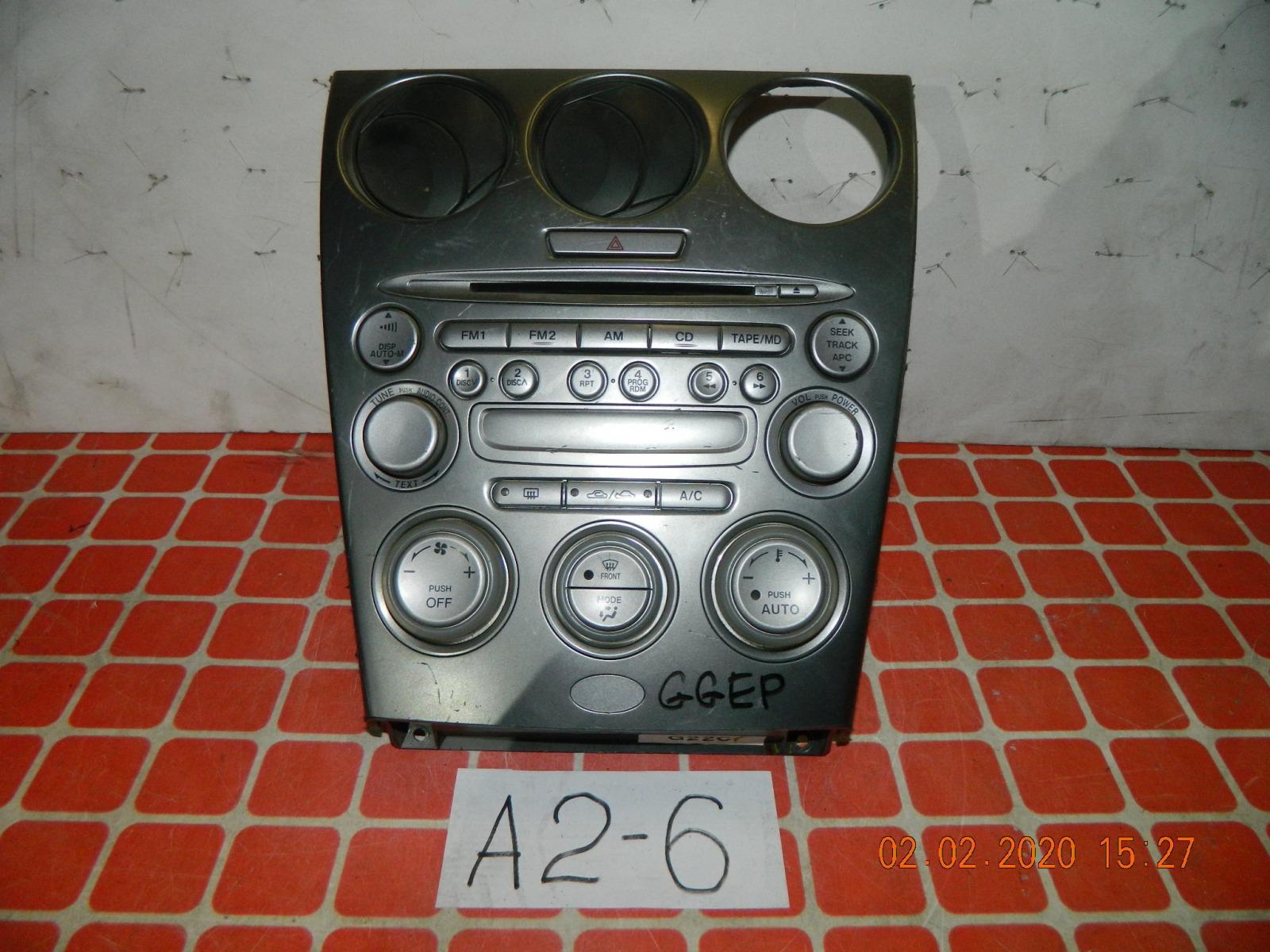 Штатная магнитола Mazda Atenza GGEP (б/у)
