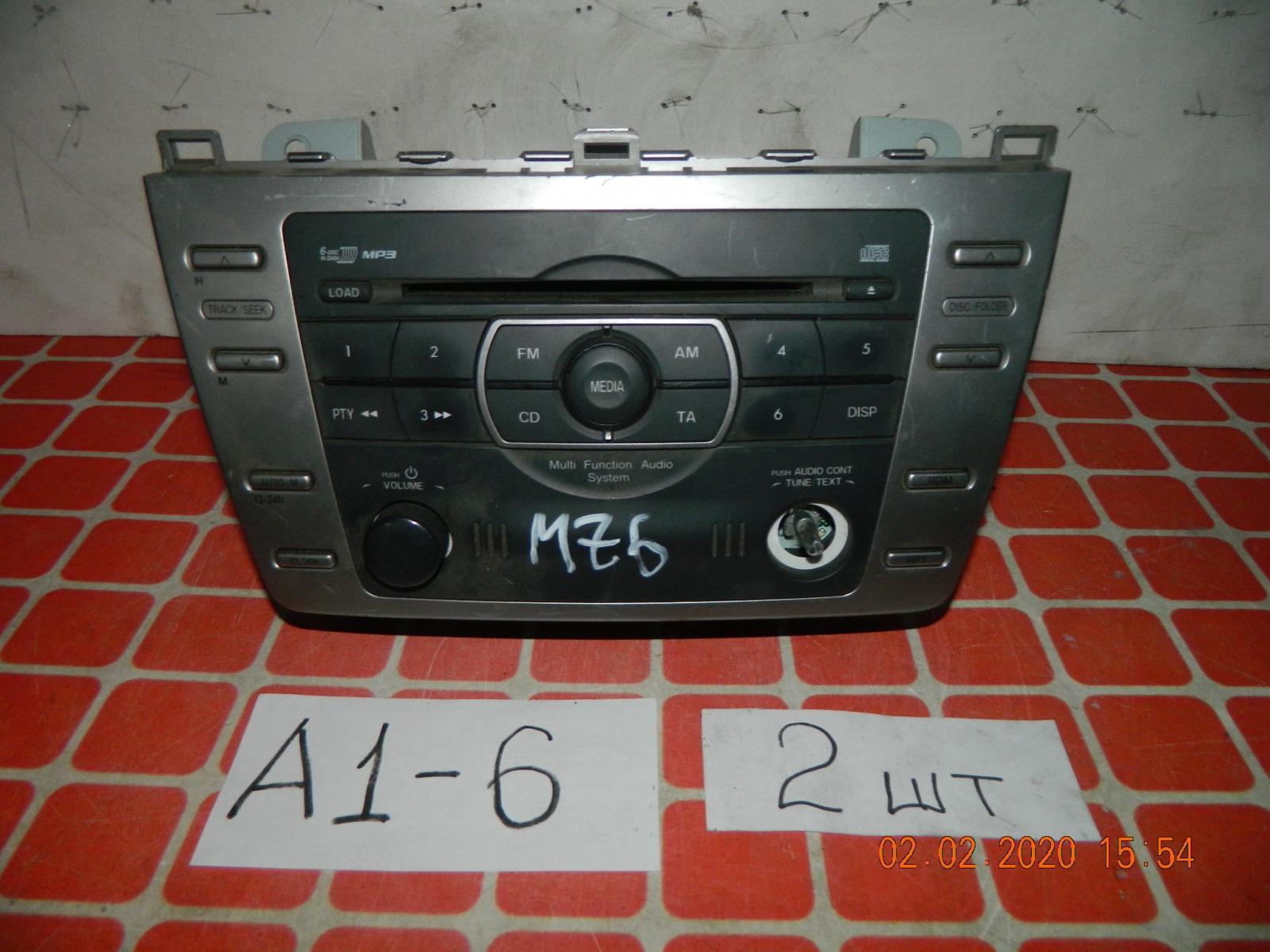 Штатная магнитола Mazda 6 (б/у)