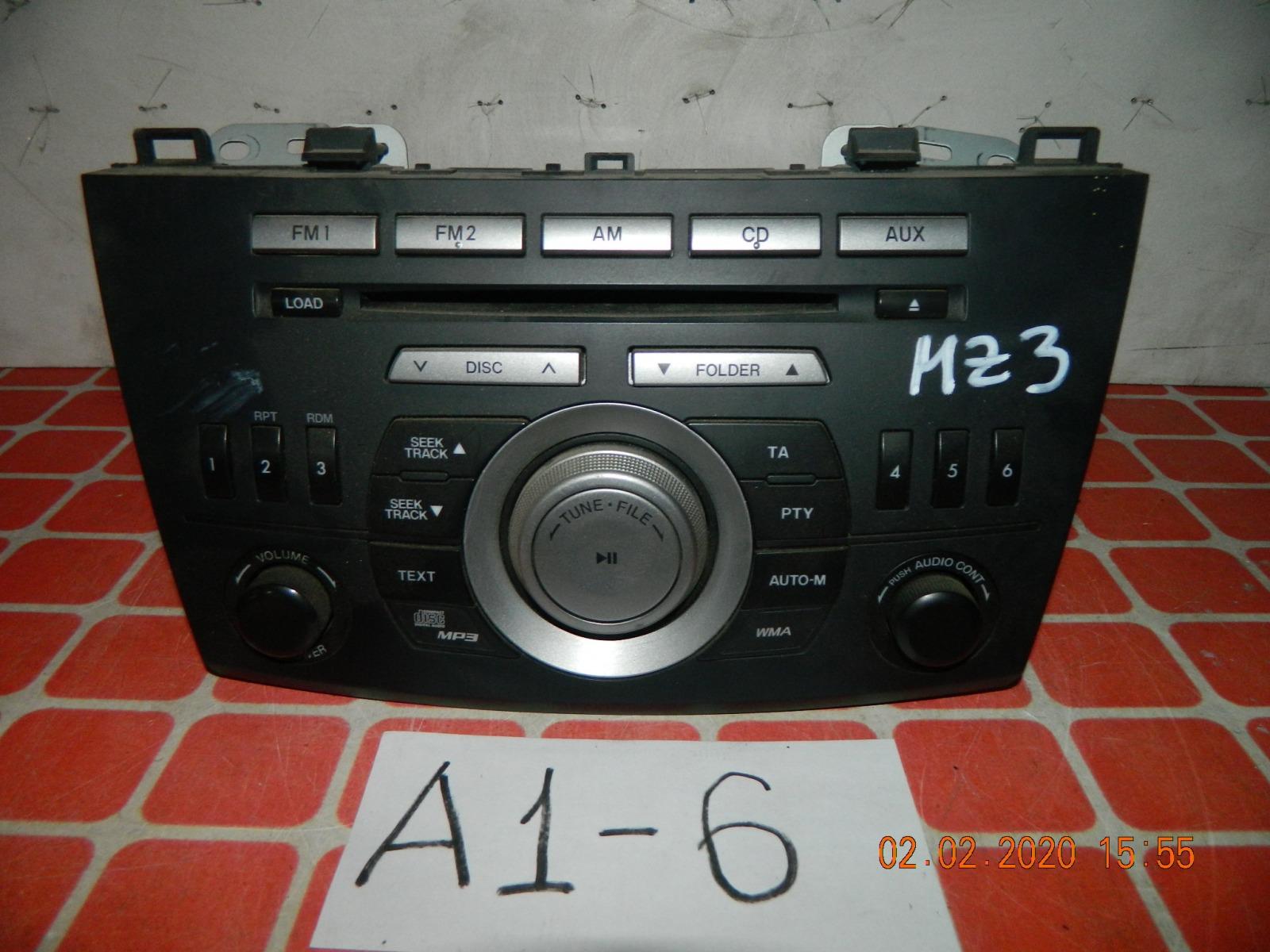 Штатная магнитола Mazda 3 (б/у)