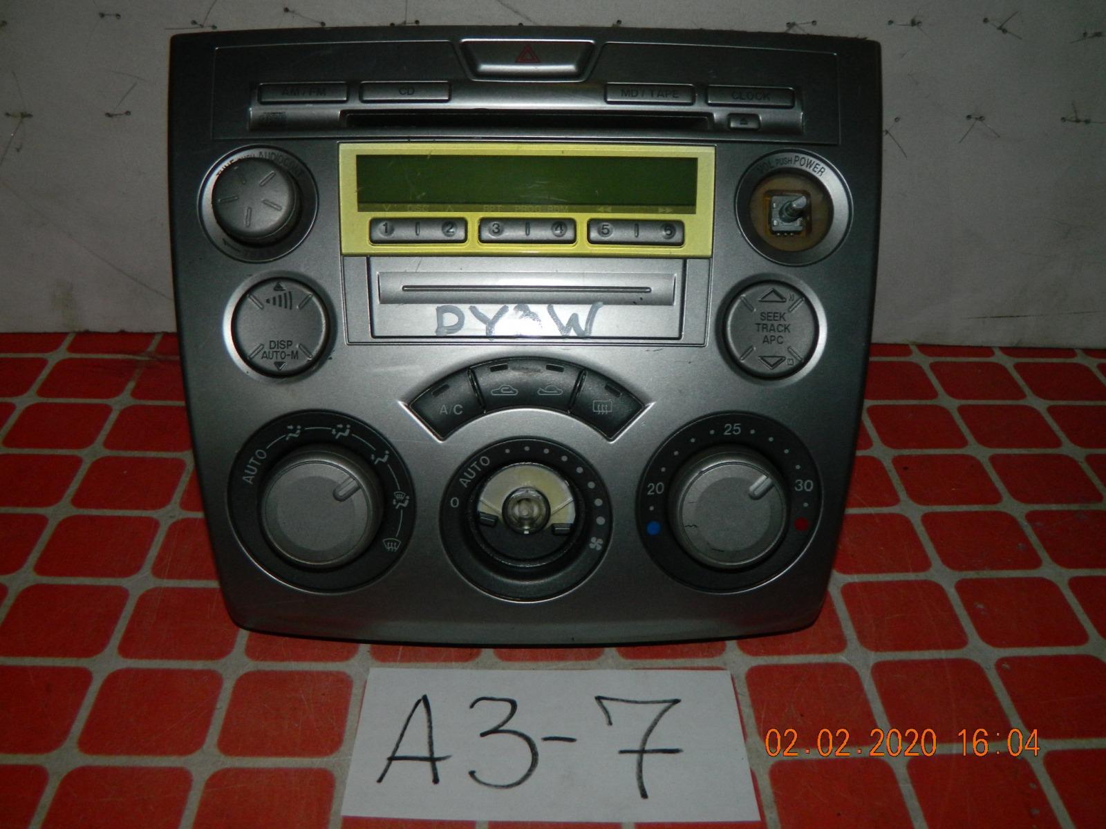 Штатная магнитола Mazda Demio DY3W (б/у)