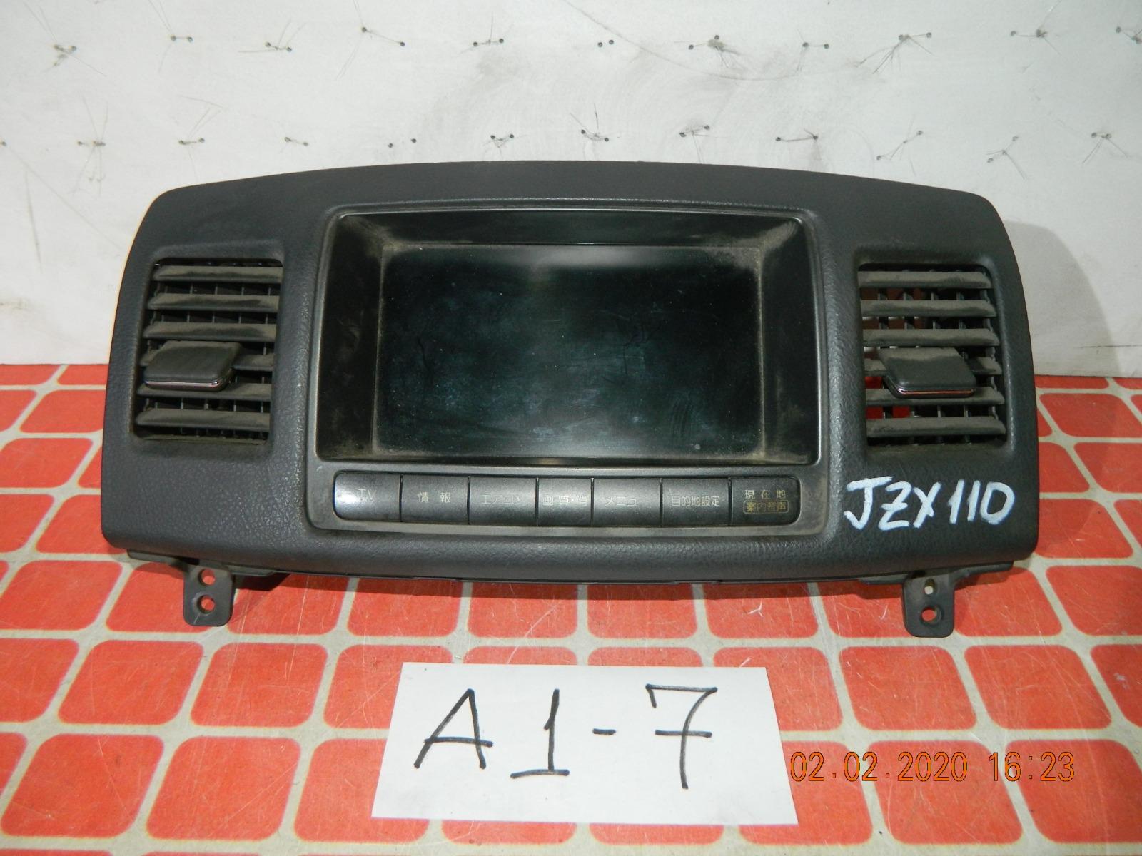 Монитор Toyota Mark Ii JZX110 (б/у)