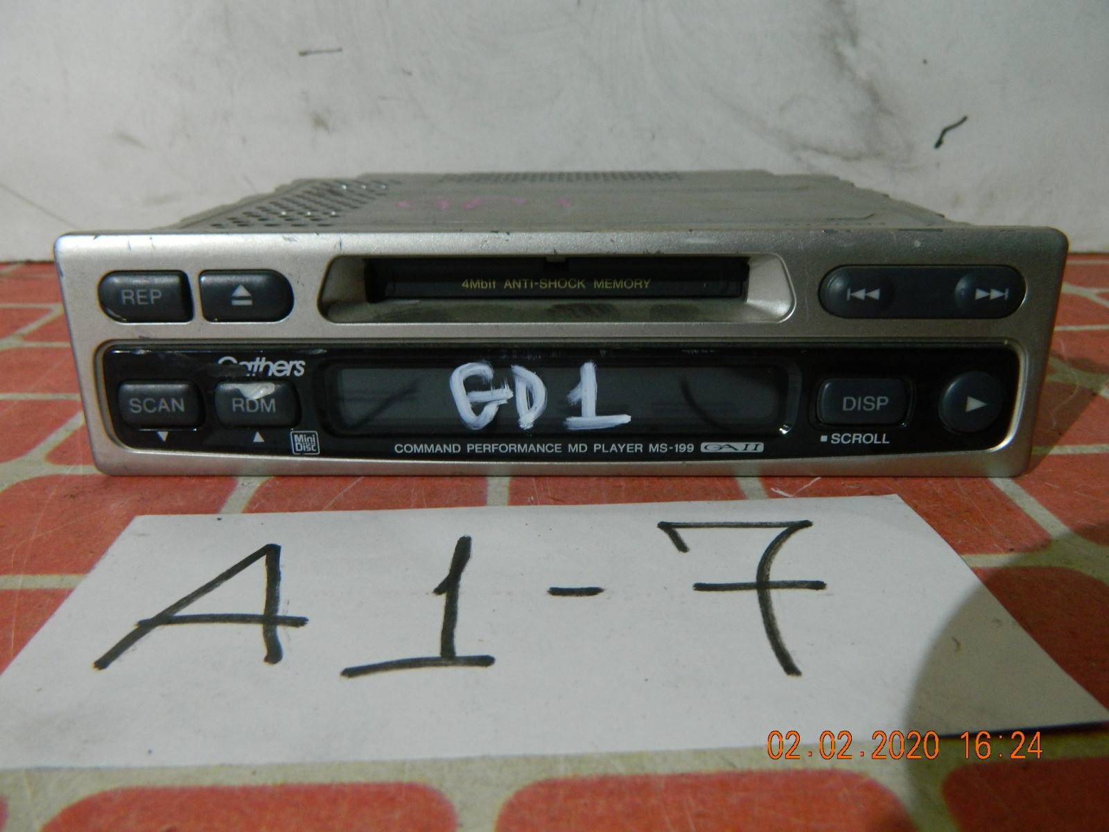 Штатная магнитола Honda Fit GD1 (б/у)