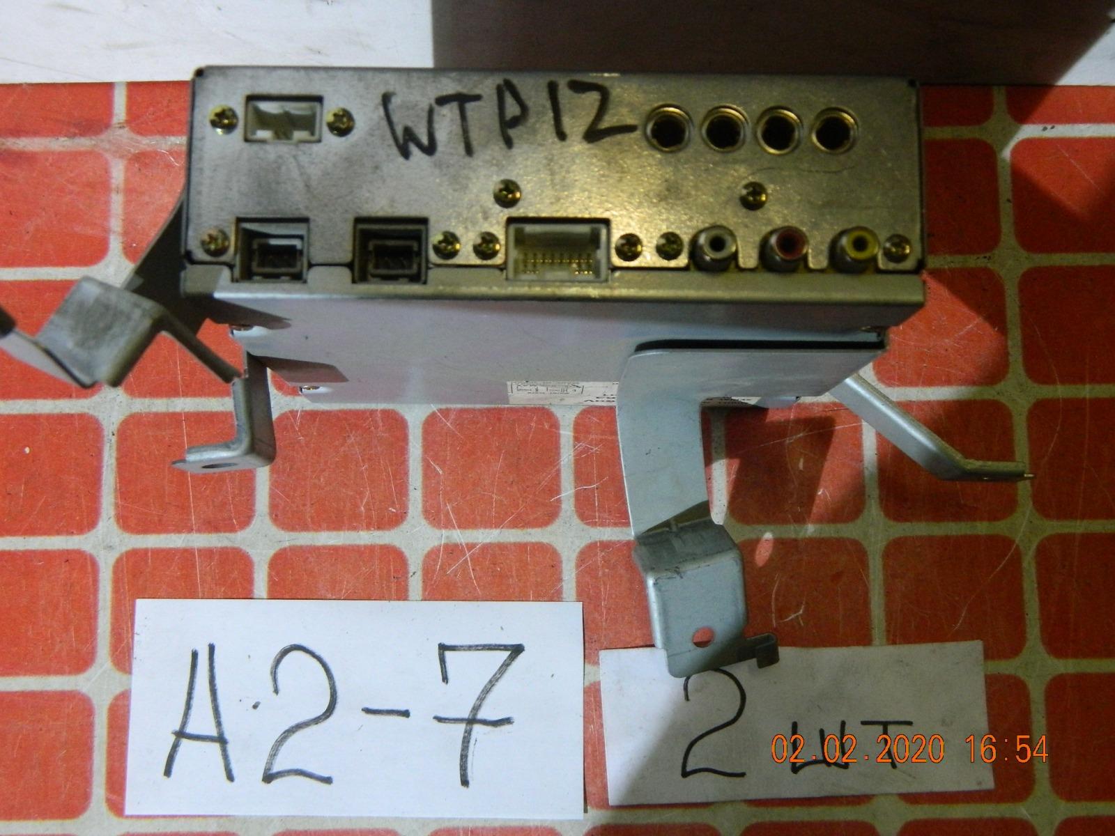 Блок управления tv тюнером. Nissan Primera WTP12 (б/у)