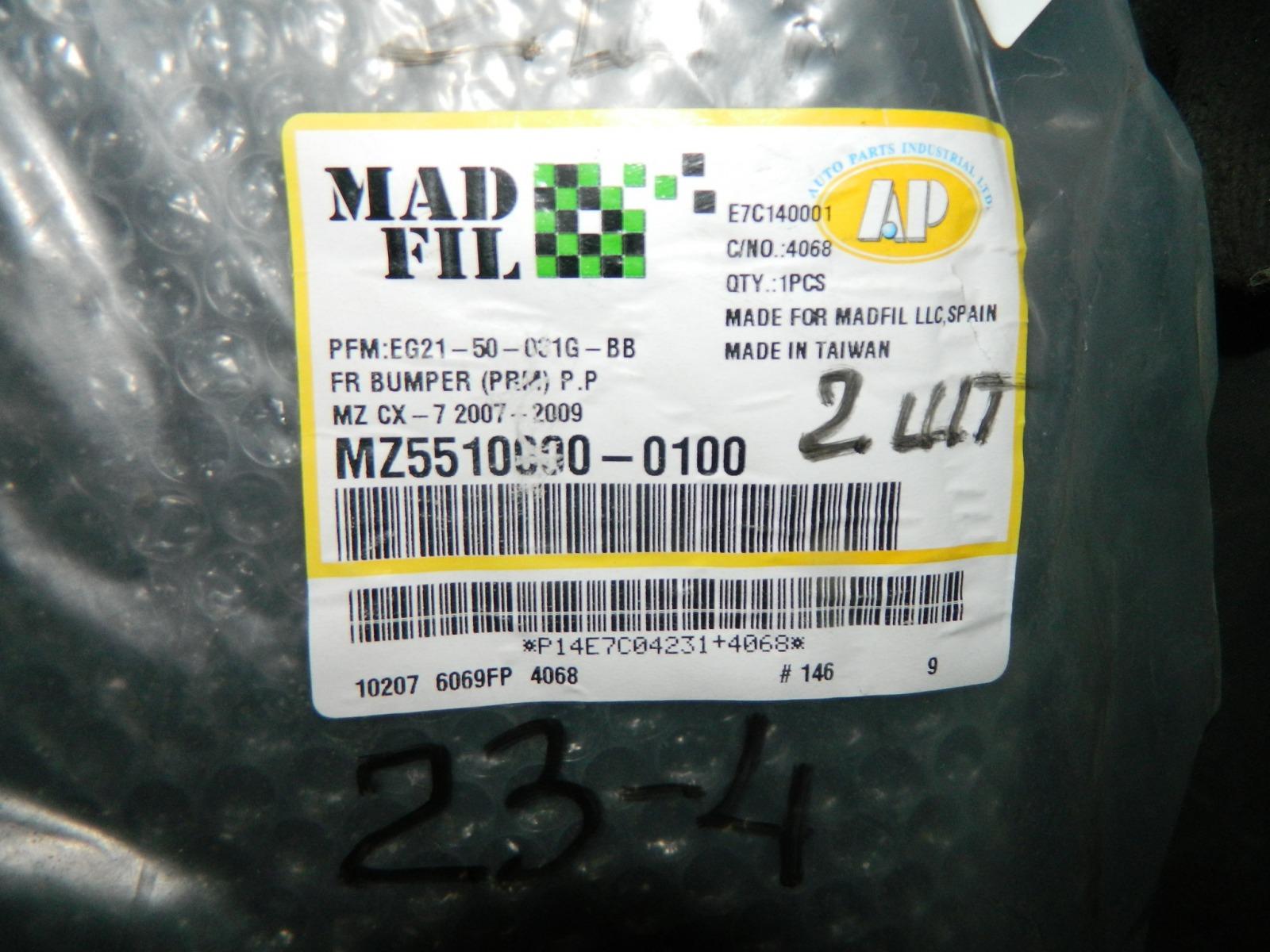 Бампер Mazda Cx-7 2007 передний
