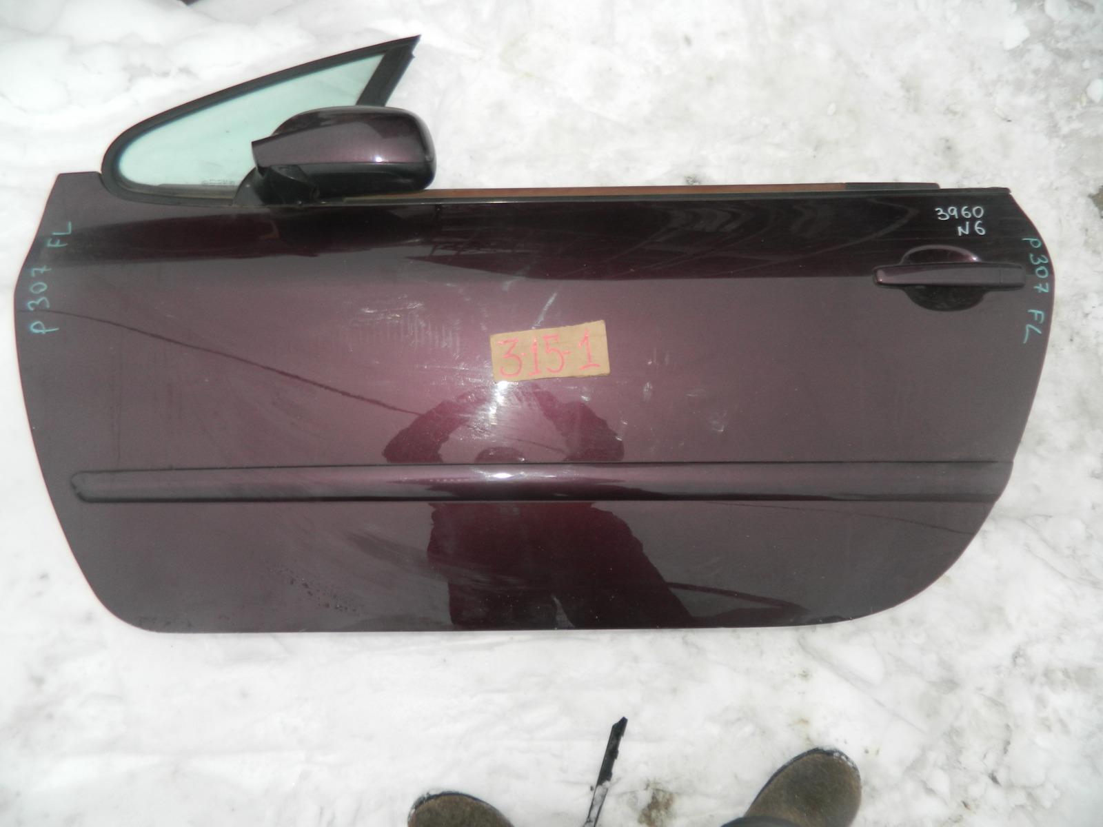 Зеркало Peugeot 307 Cc левое (б/у)