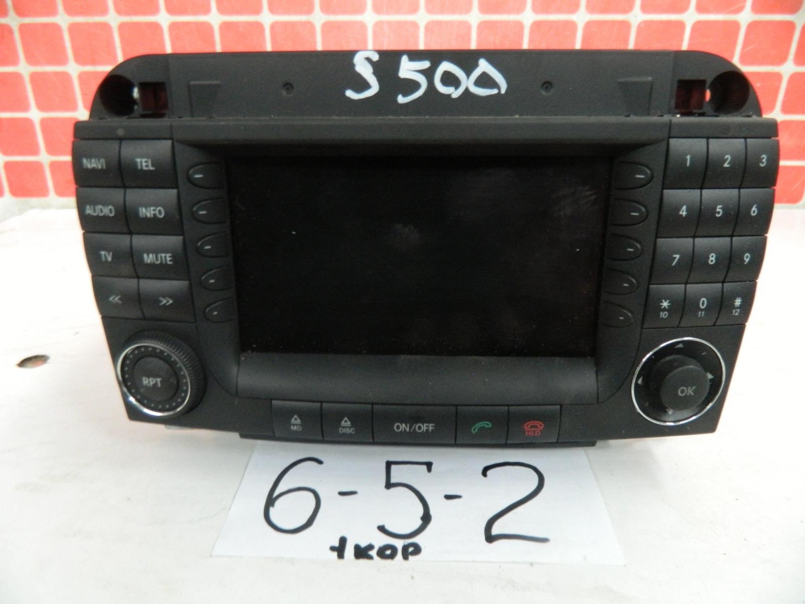 Штатная магнитола Mercedes-Benz S500 W220 2002 (б/у)