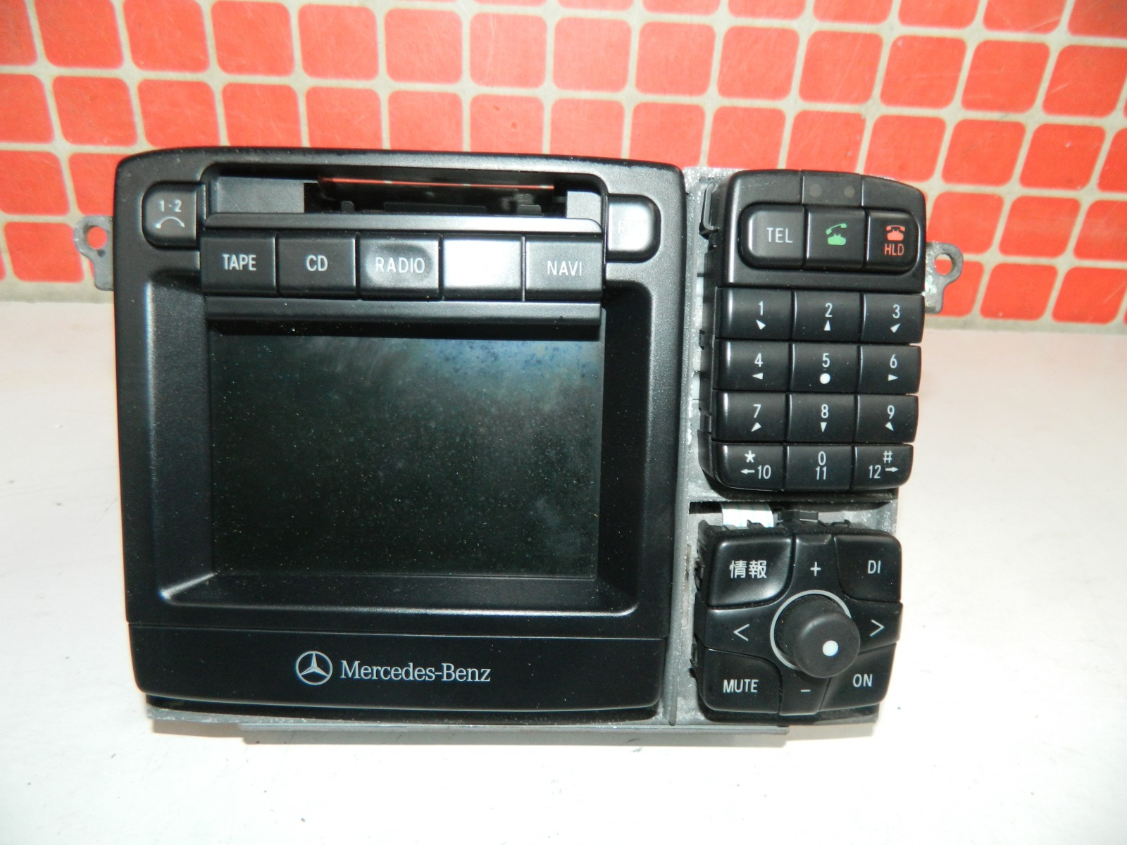 Штатная магнитола Mercedes-Benz S50 W220 1998 (б/у)