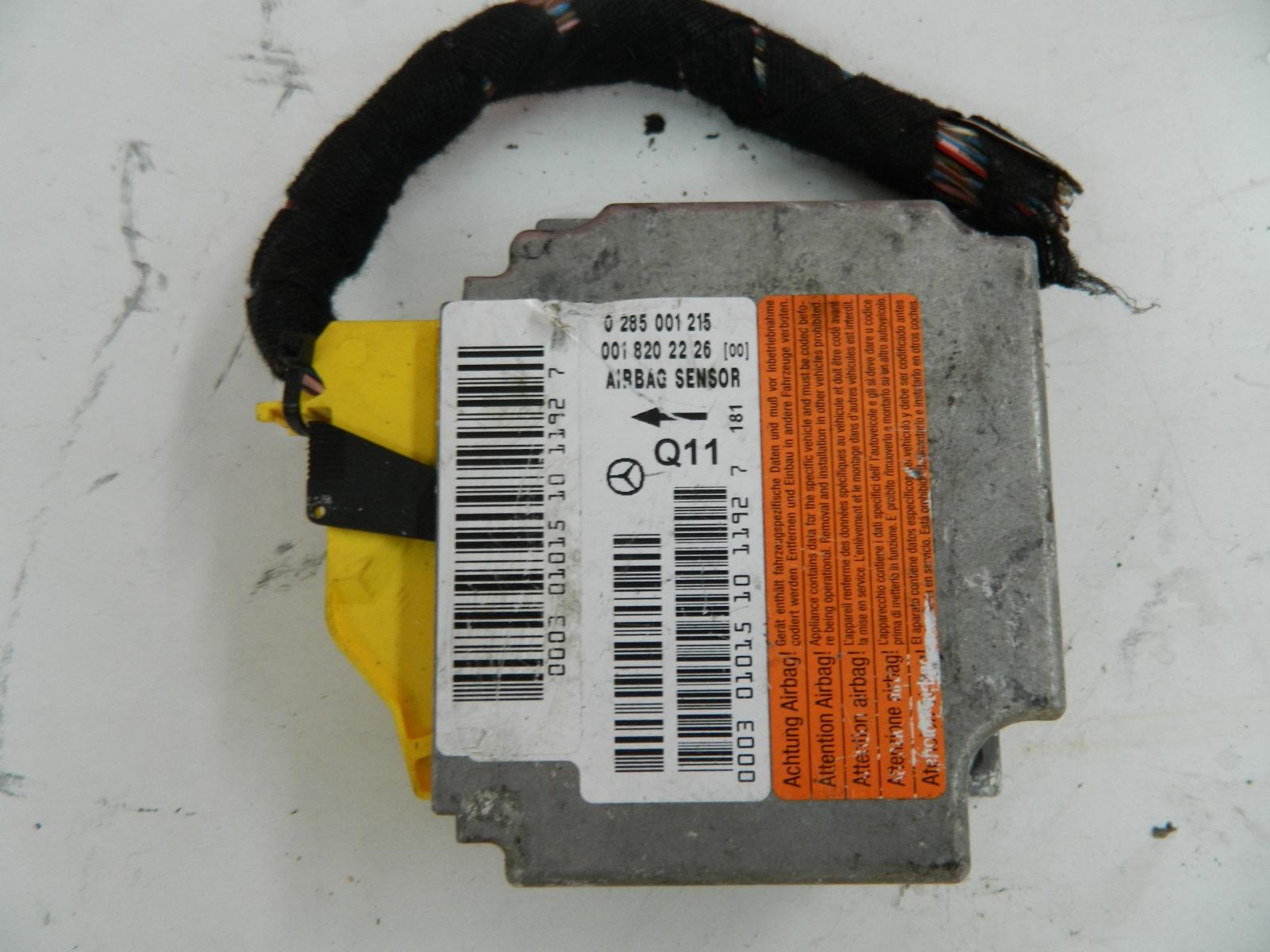 Блок управления подушками безопасности Mercedes-Benz S50 W220 1998 (б/у)