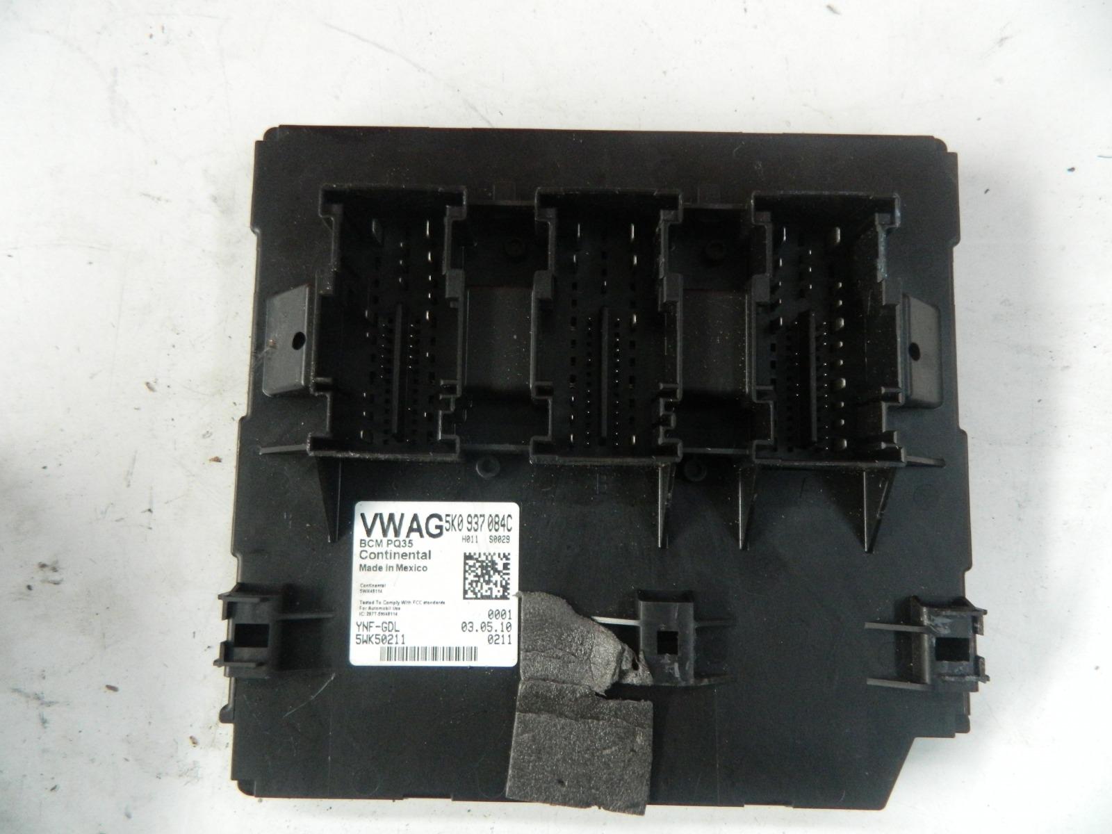 Блок комфорта bcm Volkswagen Golf 6 5K1 (б/у)