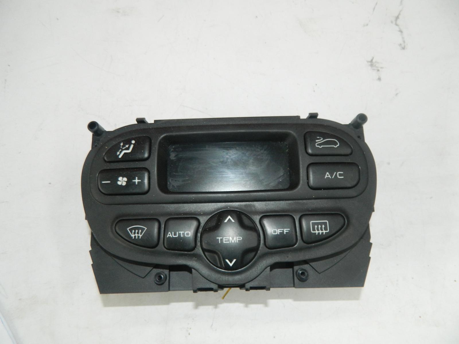 Блок управления климат-контролем Peugeot 307 Cc (б/у)