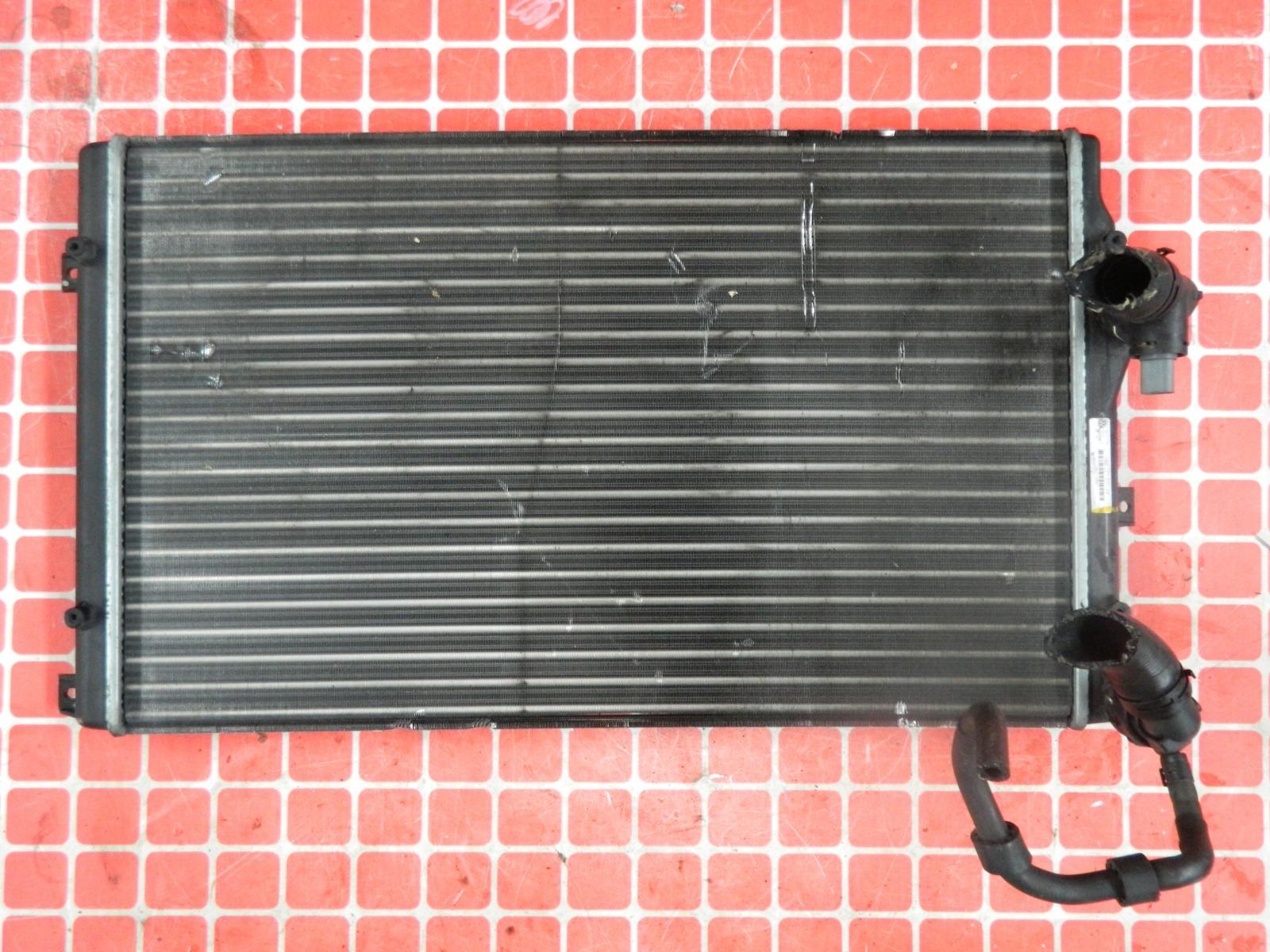 Радиатор двс Volkswagen Golf (б/у)
