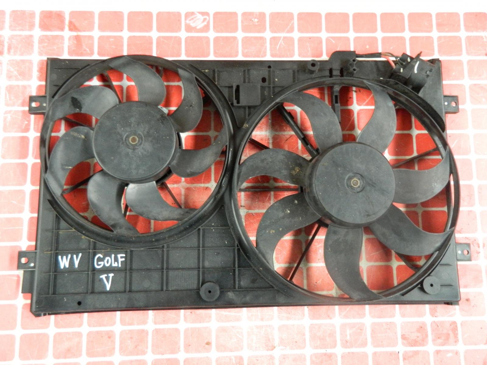 Диффузор радиатора Volkswagen Golf 5 1K1 (б/у)