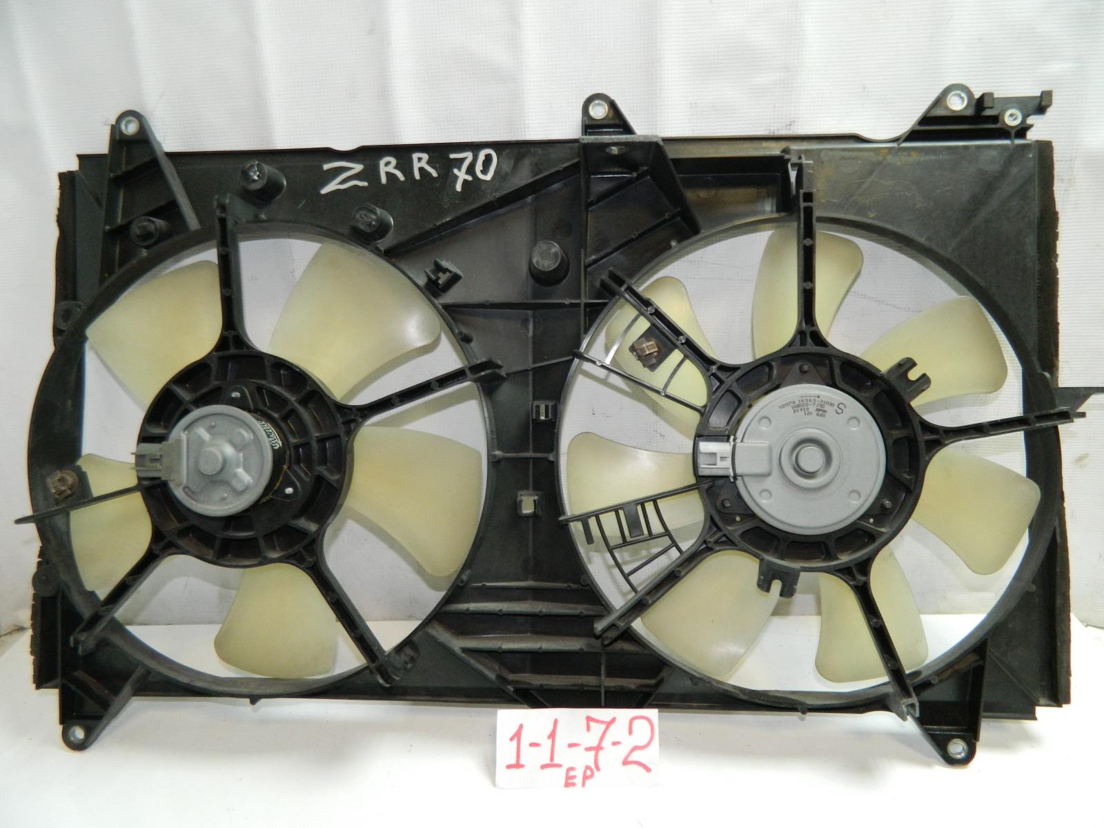 Диффузор радиатора Toyota Noah ZRR70 (б/у)