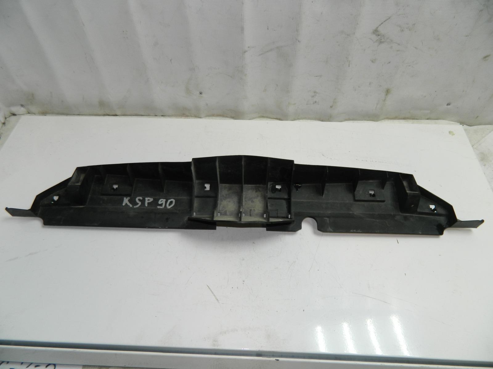 Защита бампера Toyota Vitz KSP90 передняя (б/у)