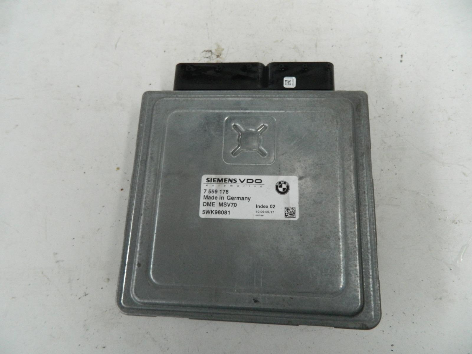 Блок управления двс Bmw 530I E61 N52B30AF (б/у)