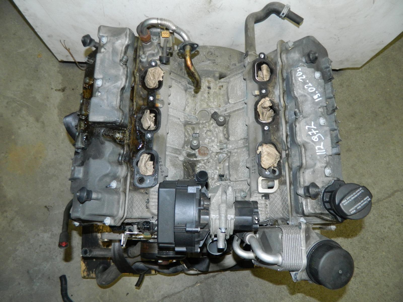 Двигатель Mercedes-Benz S500 W220 112972 (б/у)