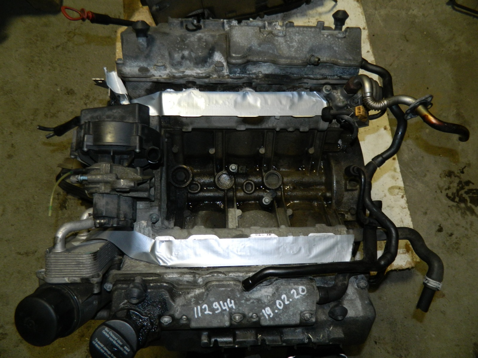 Двигатель Mercedes-Benz S50 W220 112944 (б/у)