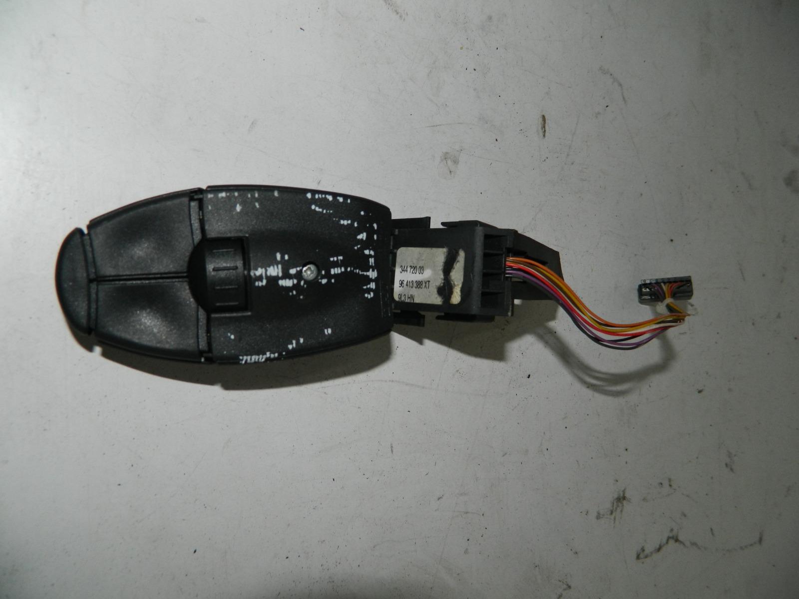 Подрулевой переключатель Peugeot 307 Cc (б/у)