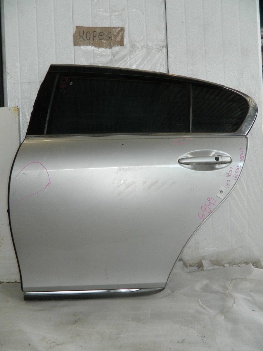 Дверь Lexus Gs350 GRS191 задняя левая (б/у)