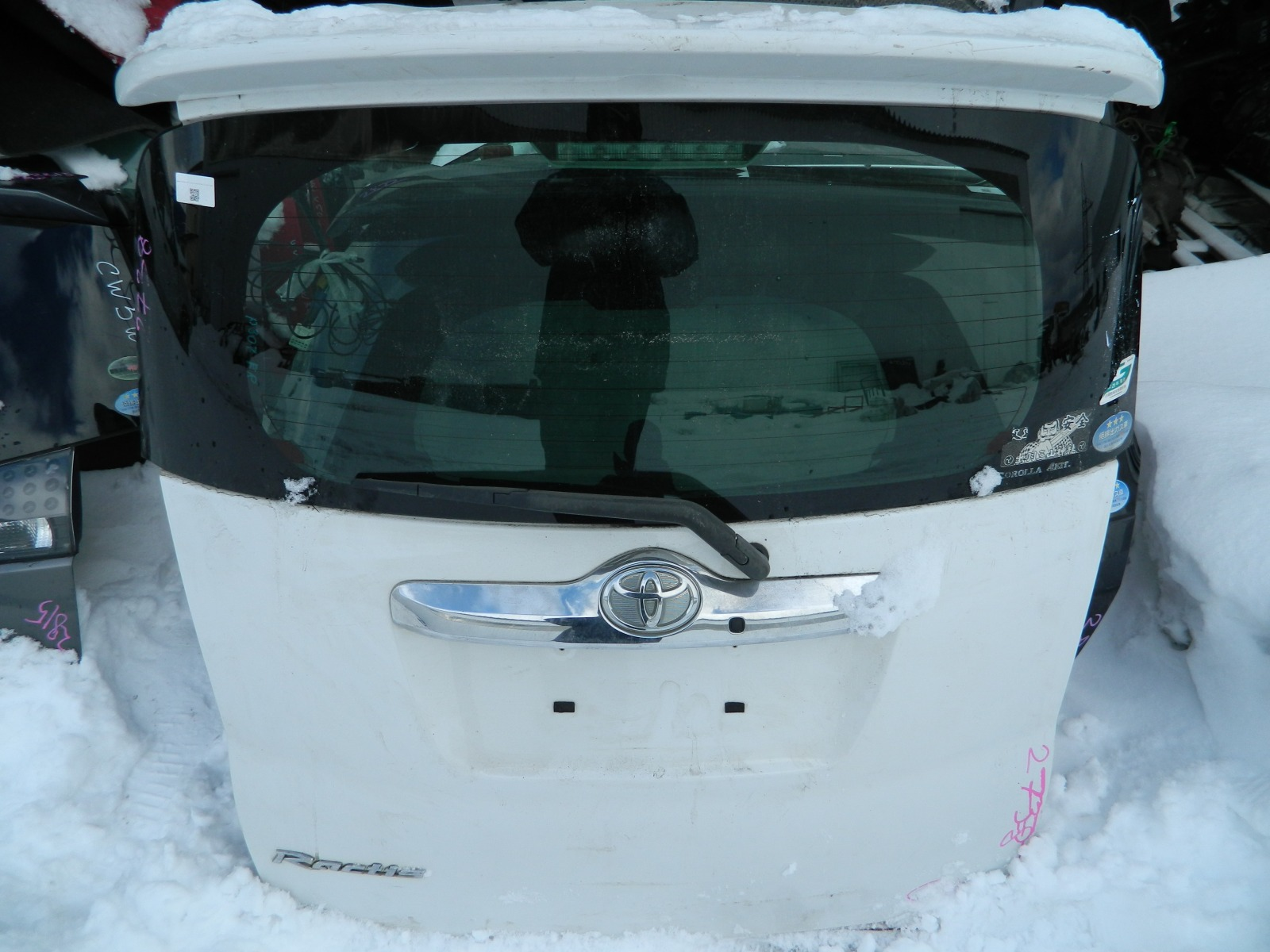 Дверь 5-я Toyota Ractis NCP100 2007 (б/у)