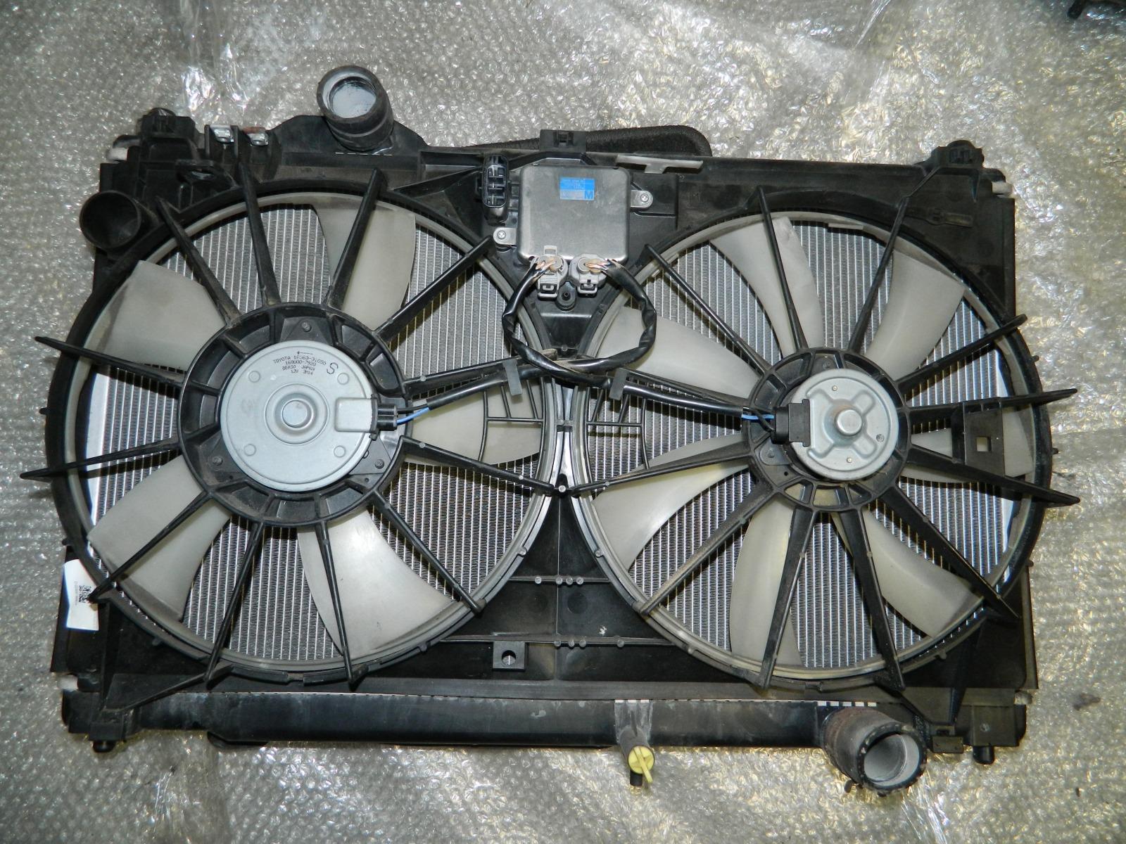 Радиатор двс Lexus Gs350 GRS191 2GR-FSE (б/у)