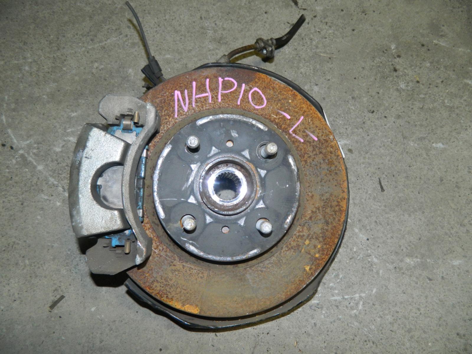 Ступица Toyota Aqua NHP10 1NZ-FXE передняя левая (б/у)