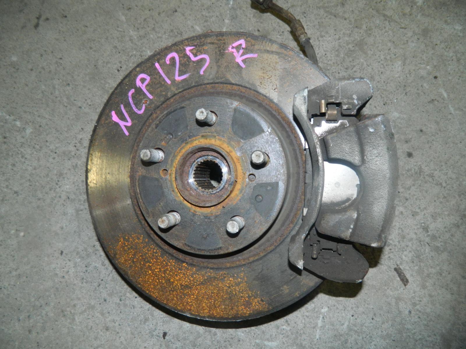 Ступица Toyota Ractis NCP125 1NZ-FE передняя правая (б/у)
