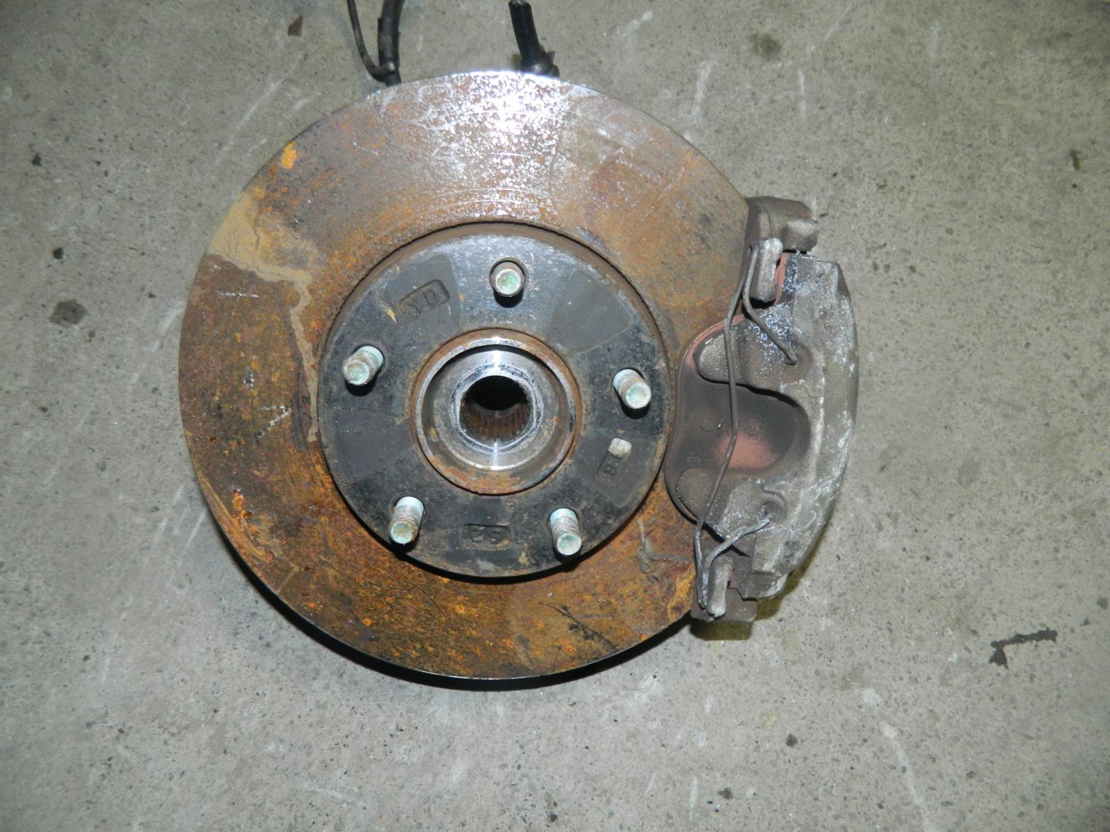 Ступица Mazda Axela BL5FW ZY-VE передняя правая (б/у)