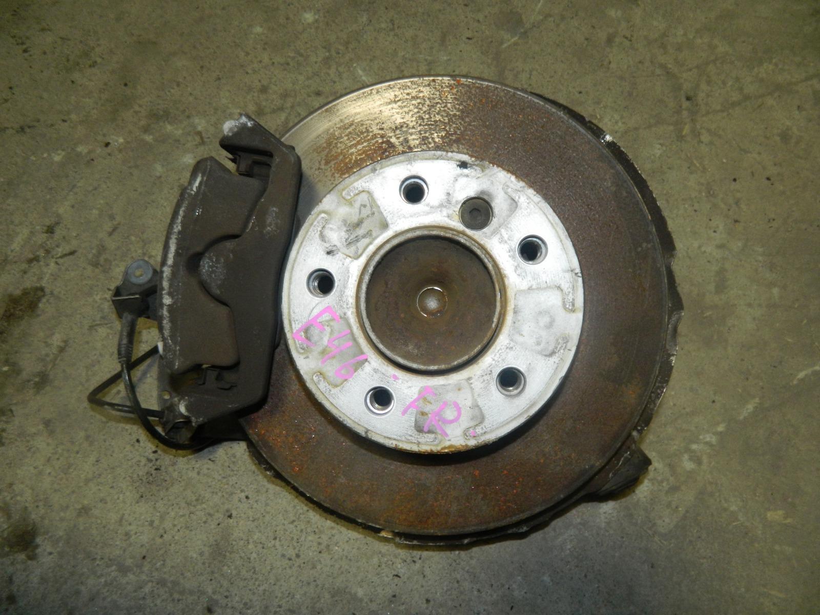Ступица Bmw 320I E46 M54B22 передняя правая (б/у)