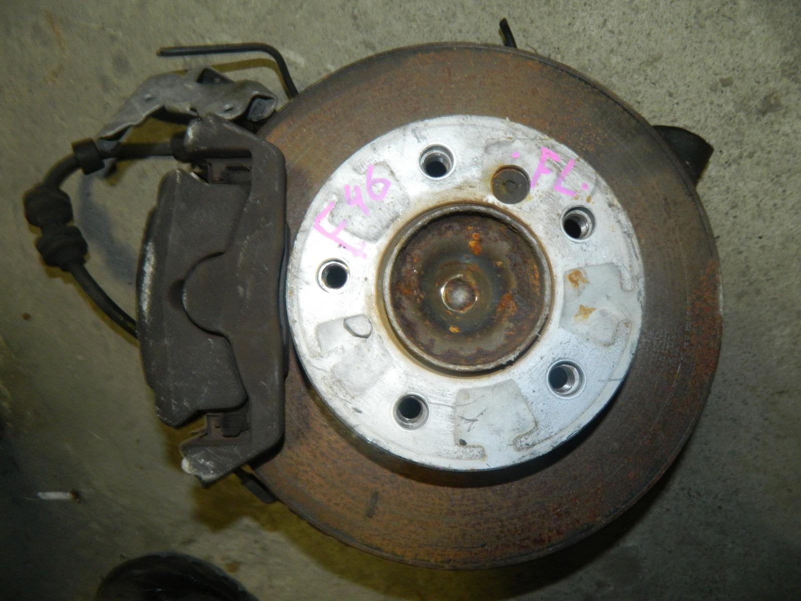 Ступица Bmw 320I E46 M54B22 передняя левая (б/у)
