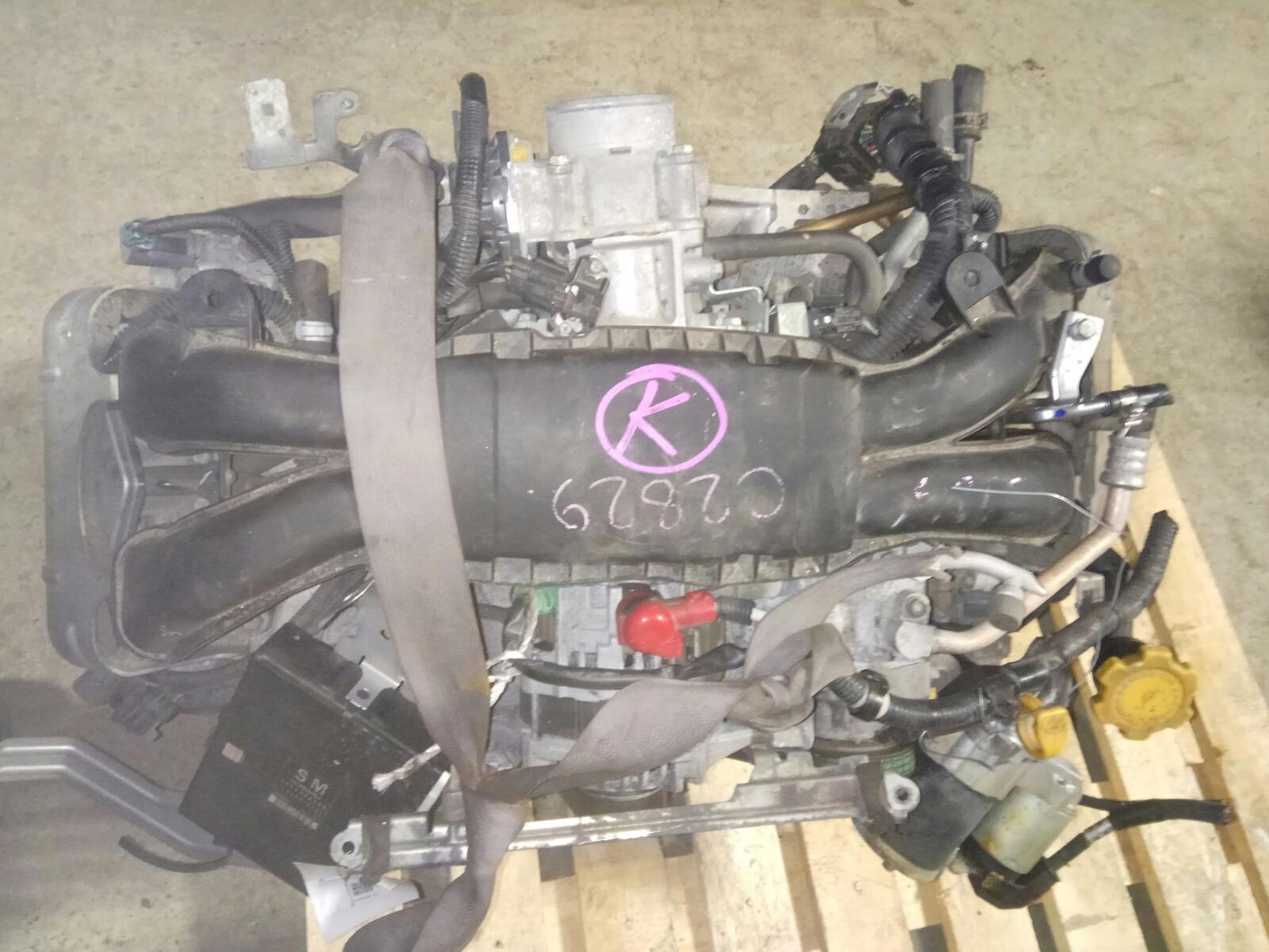 Двигатель Subaru Legacy BM9 EJ253 2010 (б/у)
