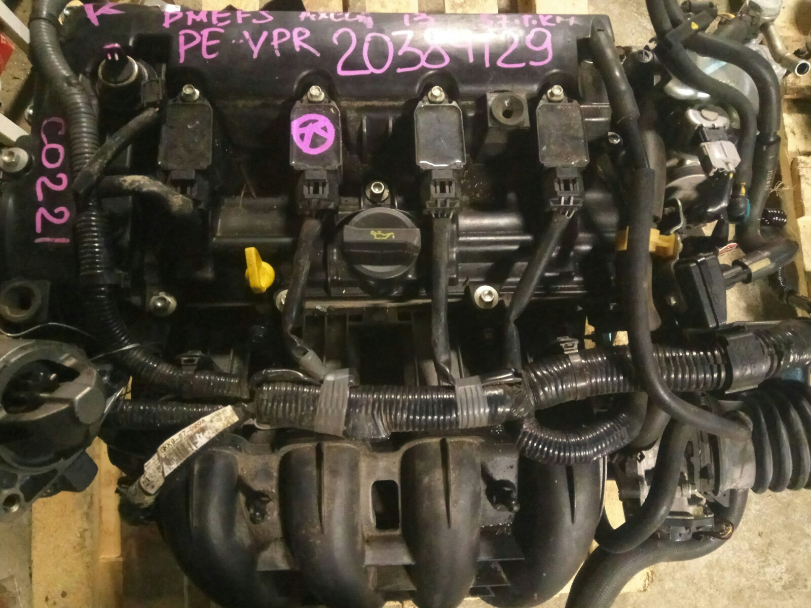 Двигатель Mazda Axela BMEFS PE-VPR 2013 (б/у)