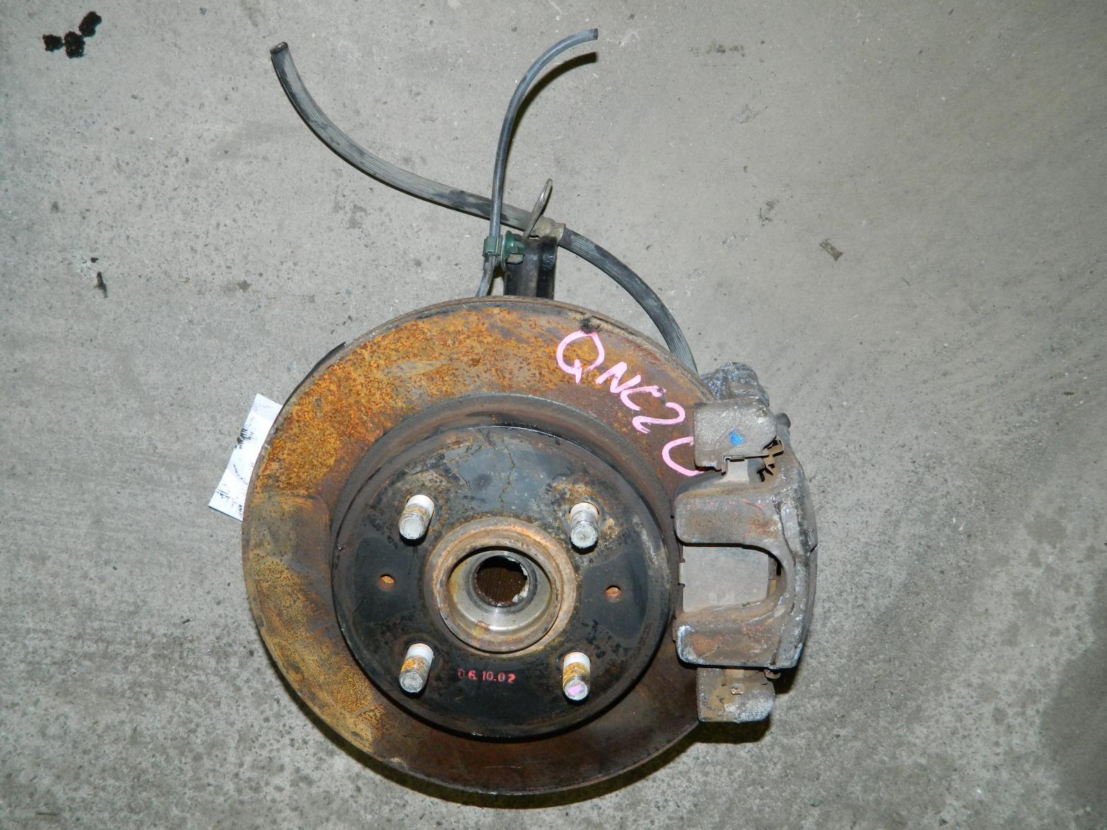 Ступица Toyota Bb QNC20 K3-VE передняя правая (б/у)