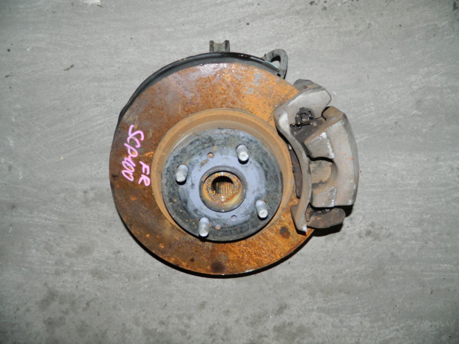 Ступица Toyota Ractis SCP100 2SZ-FE передняя правая (б/у)