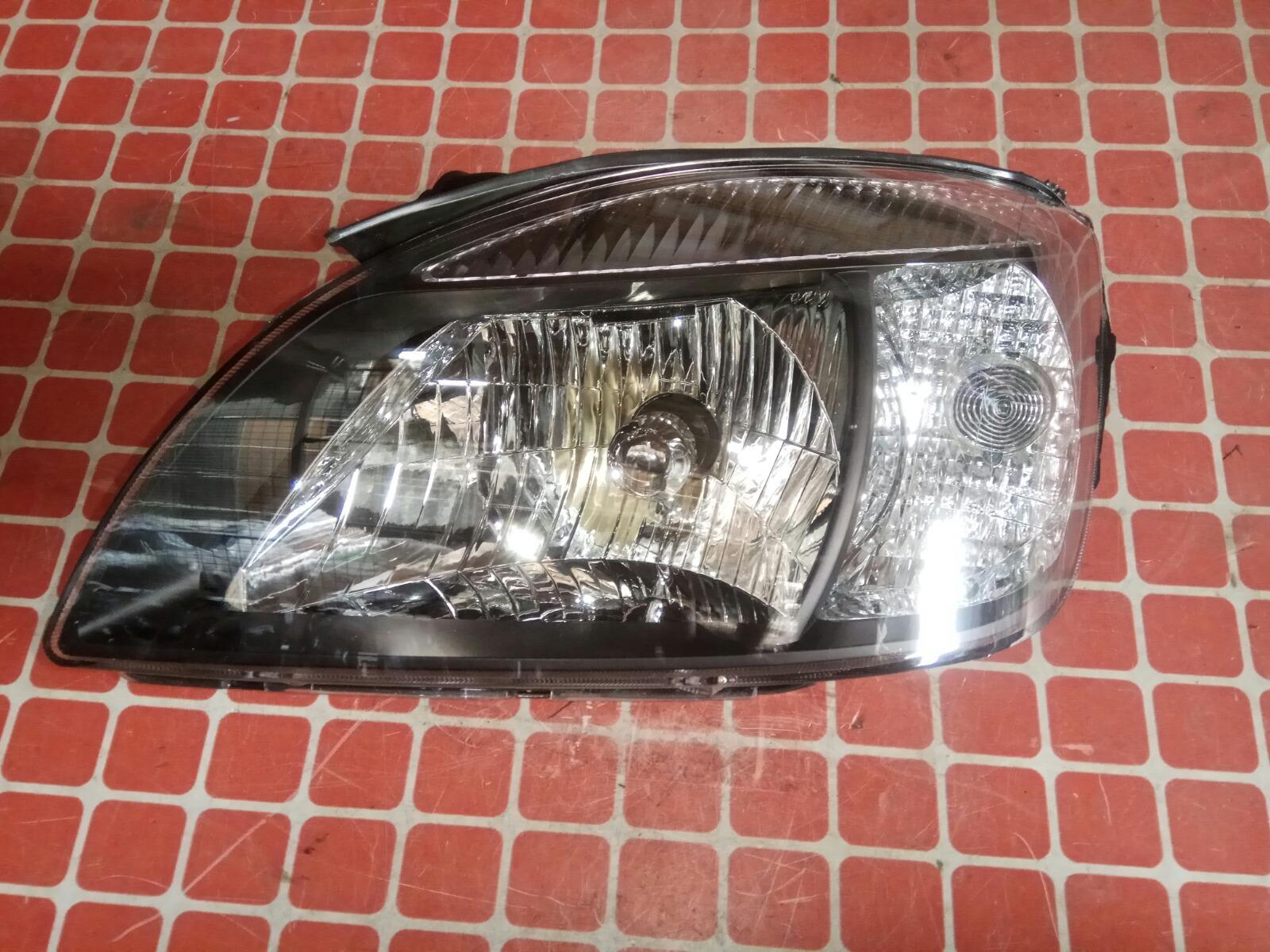 Фара (черная)Hyundai/kia Rio JB 2009 передняя левая