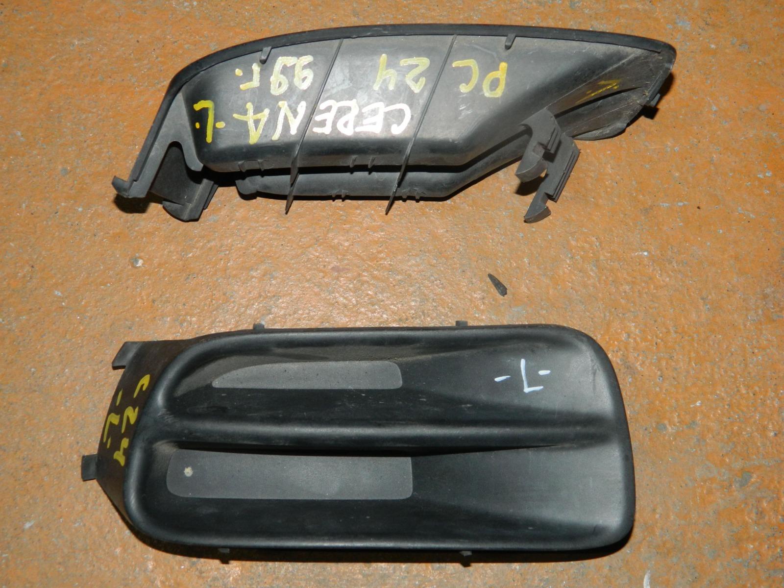 Заглушка противотуманной фары Nissan Serena PC24 передняя левая (б/у)