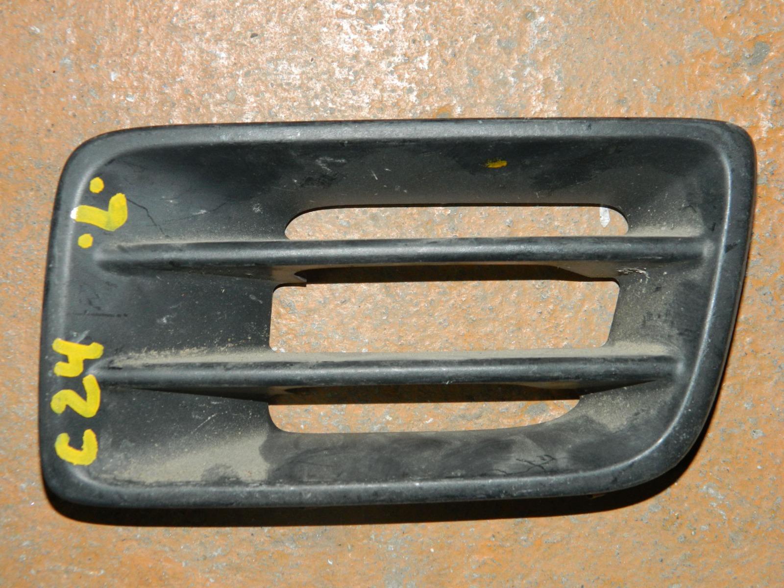 Заглушка противотуманной фары Nissan Serena C24 передняя левая (б/у)
