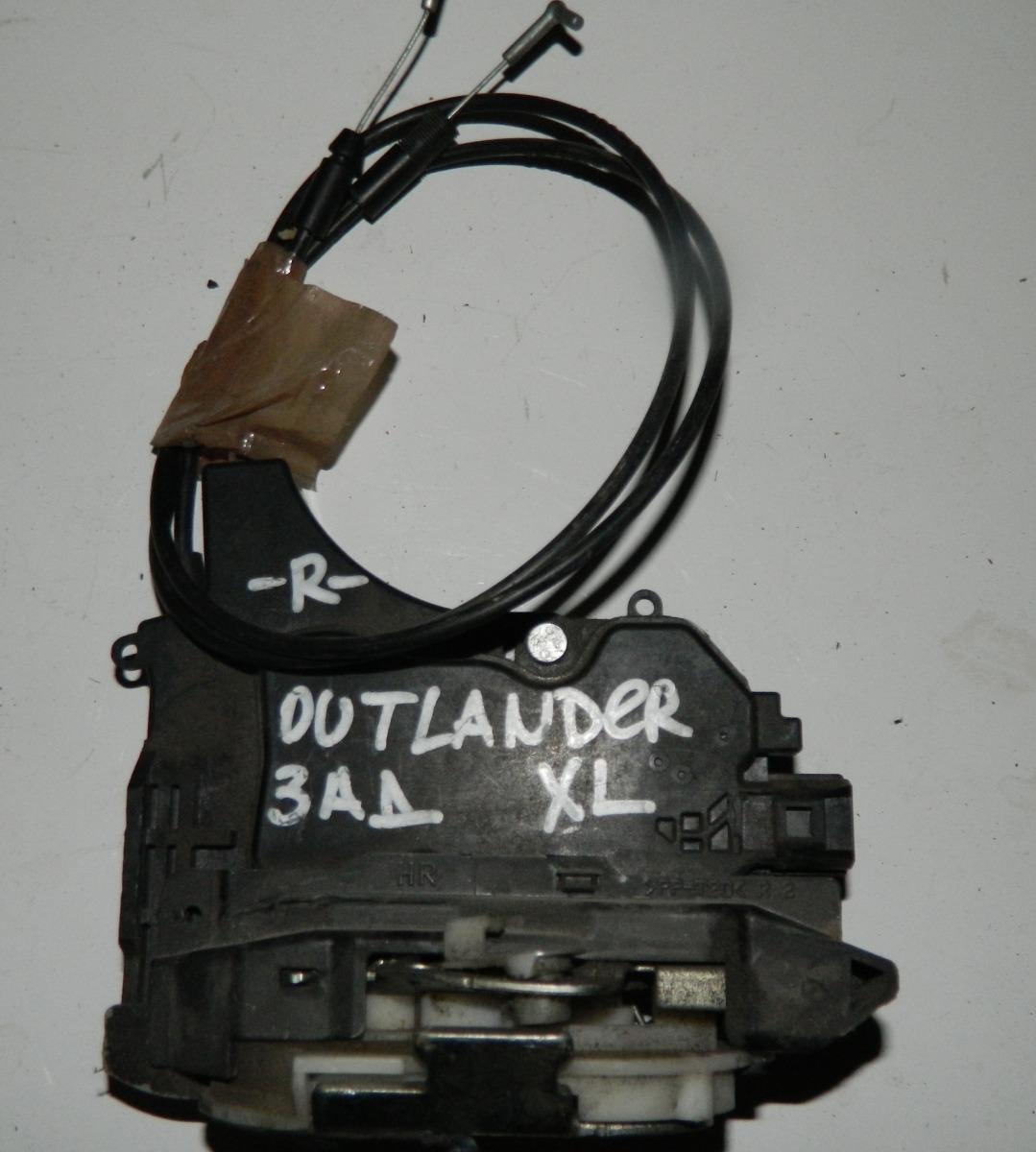 Замок двери Mitsubishi Outlander Xl задний правый (б/у)