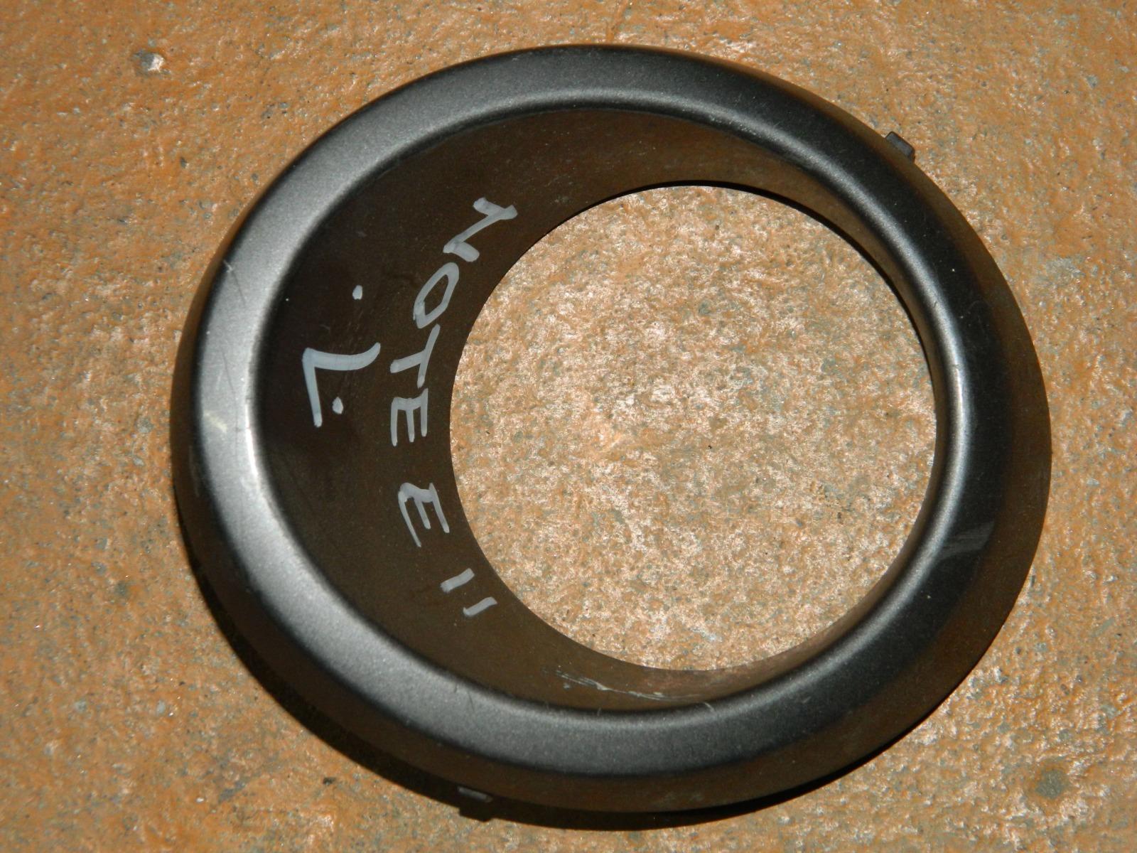 Рамка противотуманной фары Nissan Note E11 левая (б/у)