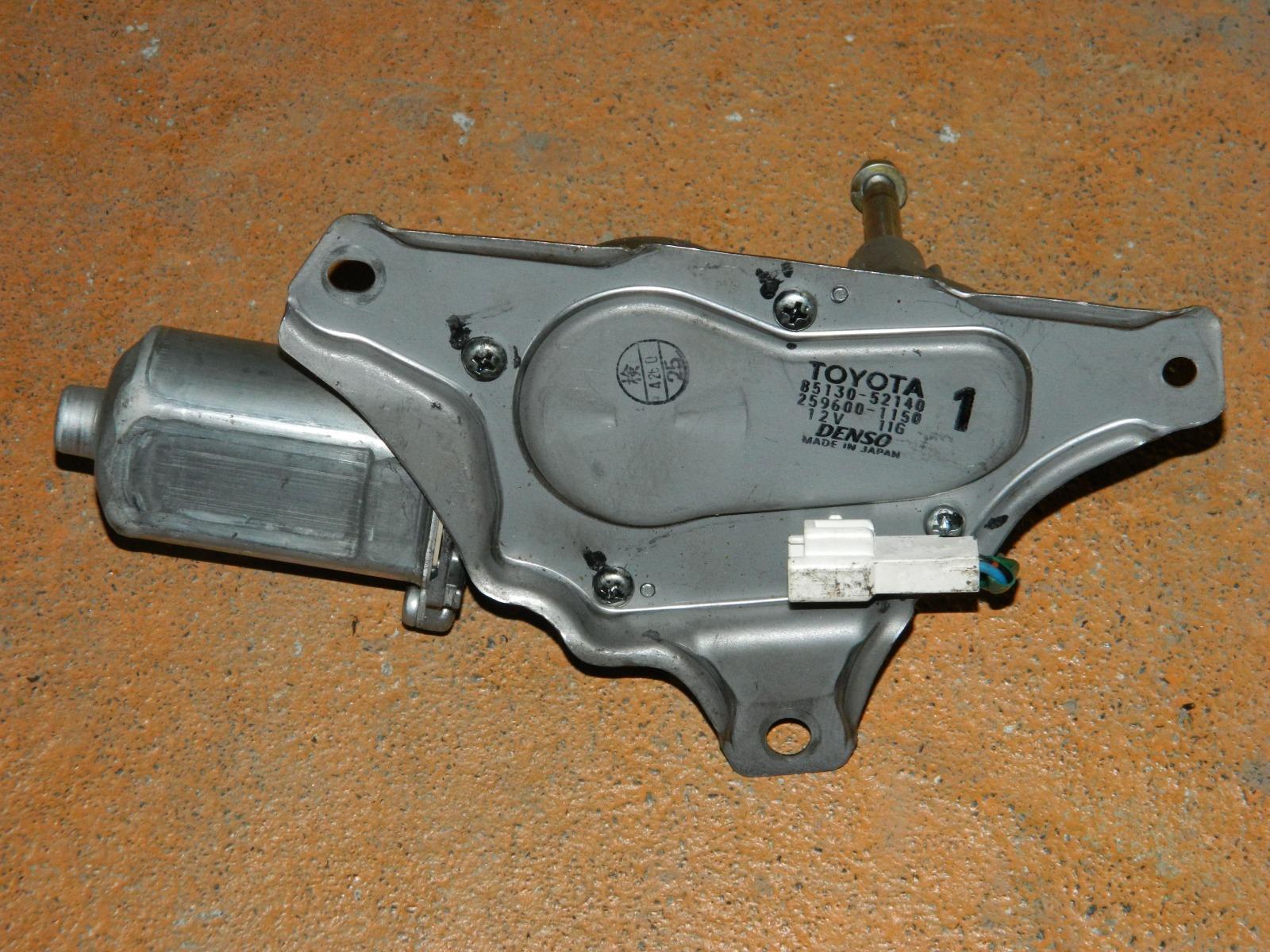Механизм стеклоочистителя Toyota Ractis NCP100 задний (б/у)
