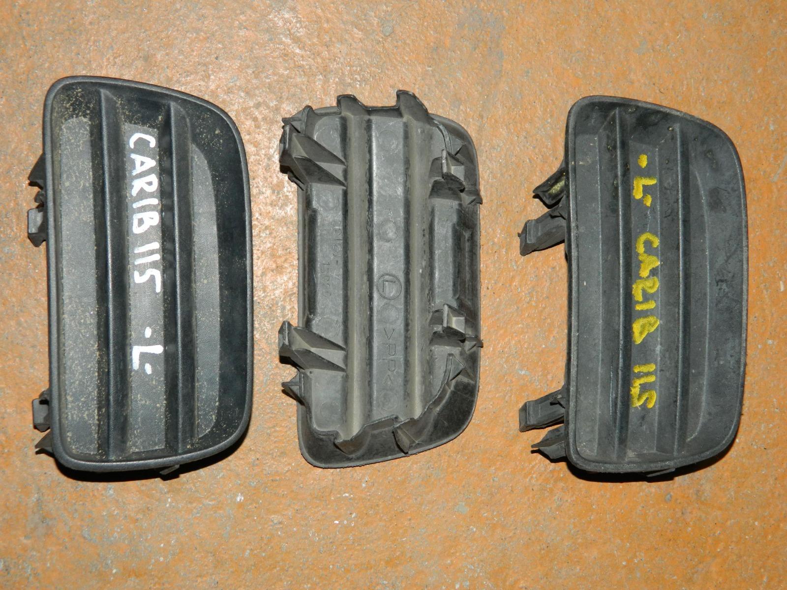 Заглушка противотуманной фары Toyota Carib AE115 левая (б/у)