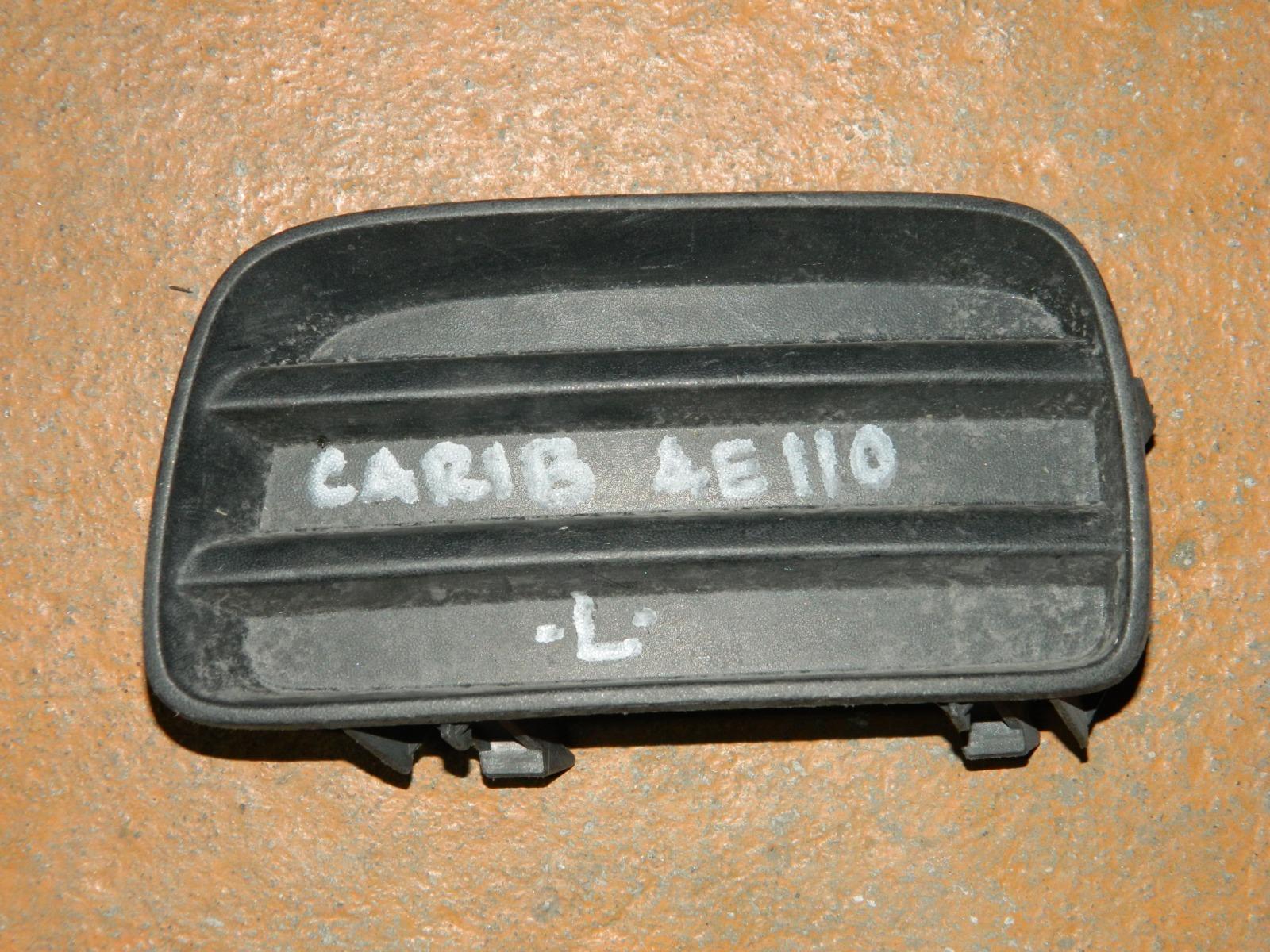 Заглушка противотуманной фары Toyota Carib AE110 левая (б/у)